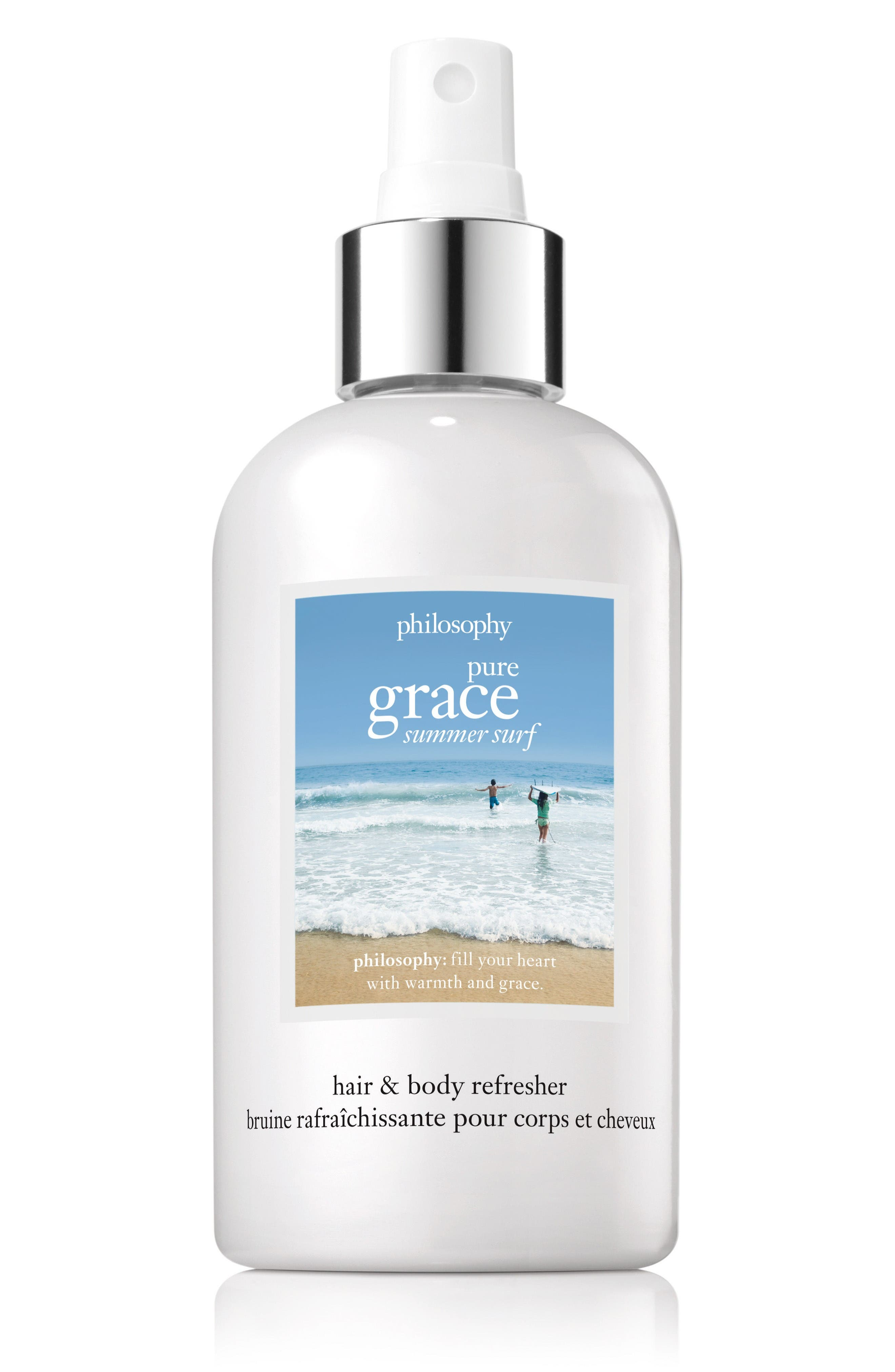 pure grace summer surf hair and body refresher,                         Main,                         color, No Color