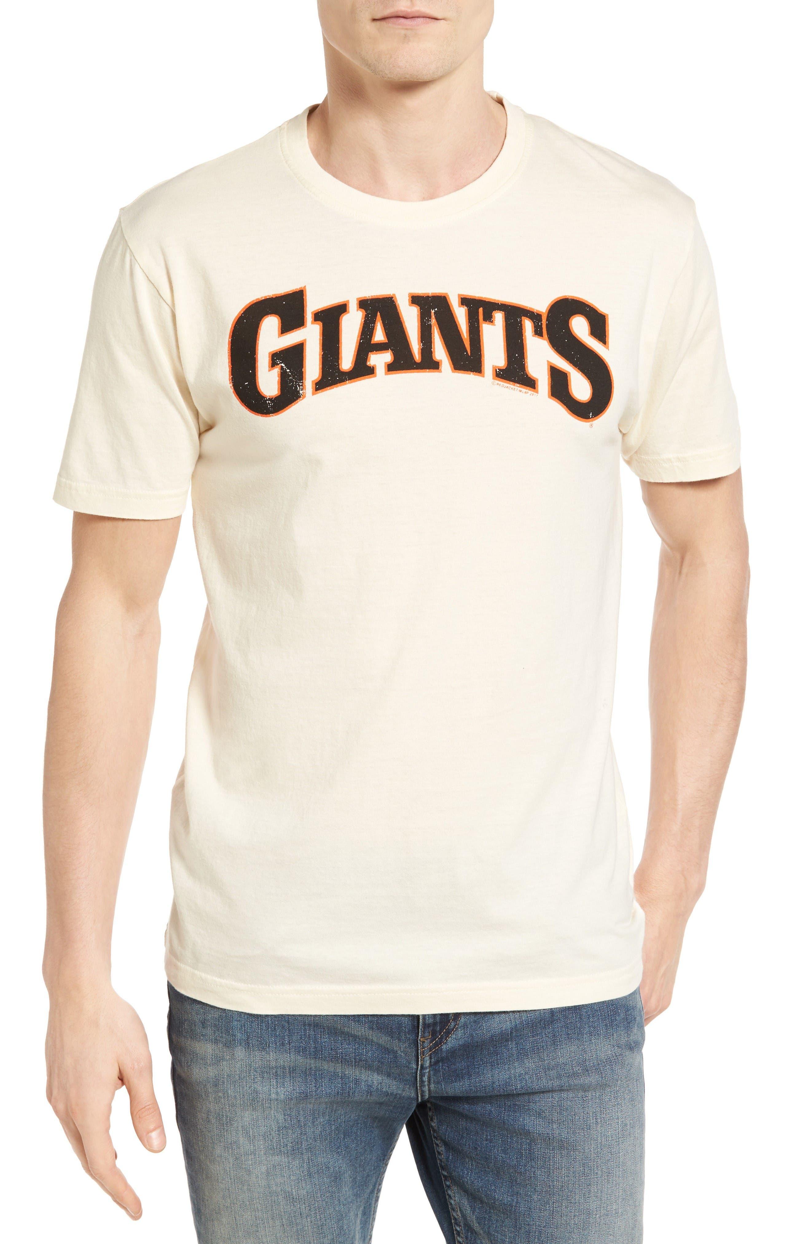 Brass Tack San Francisco Giants T-Shirt,                         Main,                         color, Cream