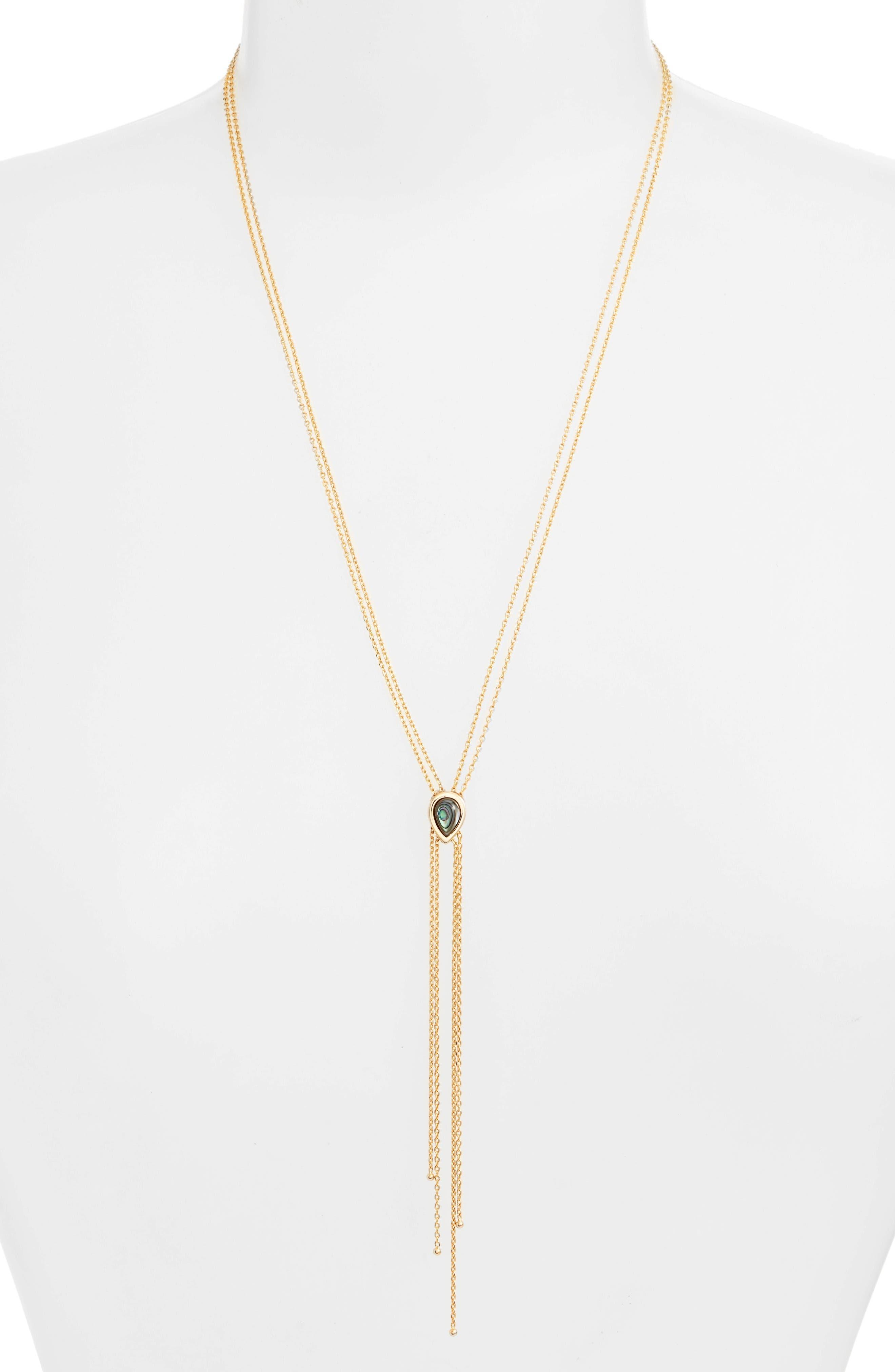 Main Image - Jules Smith Dawson Lariat Necklace
