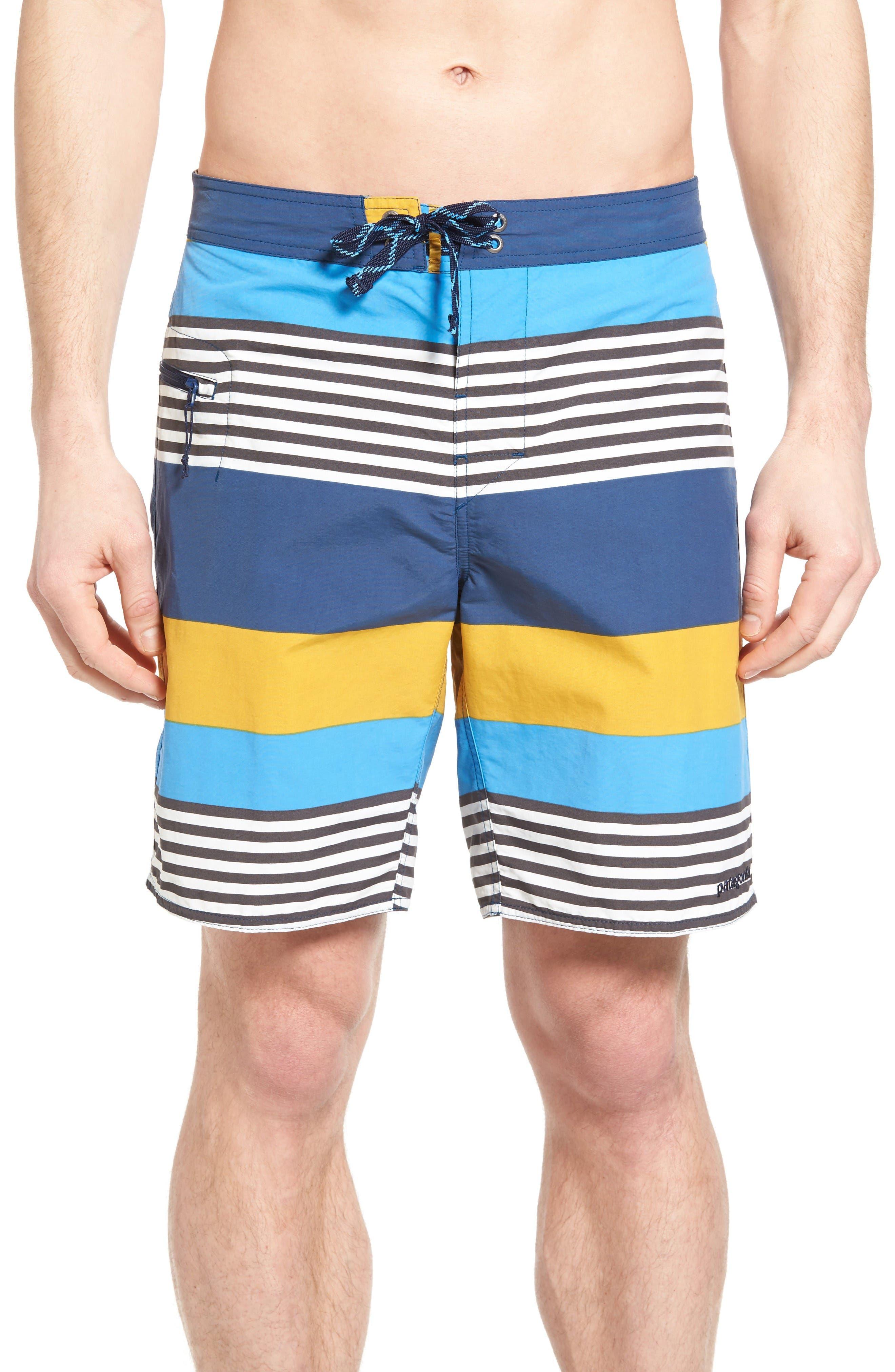 Wavefarer Board Shorts,                         Main,                         color, Yurt Yellow