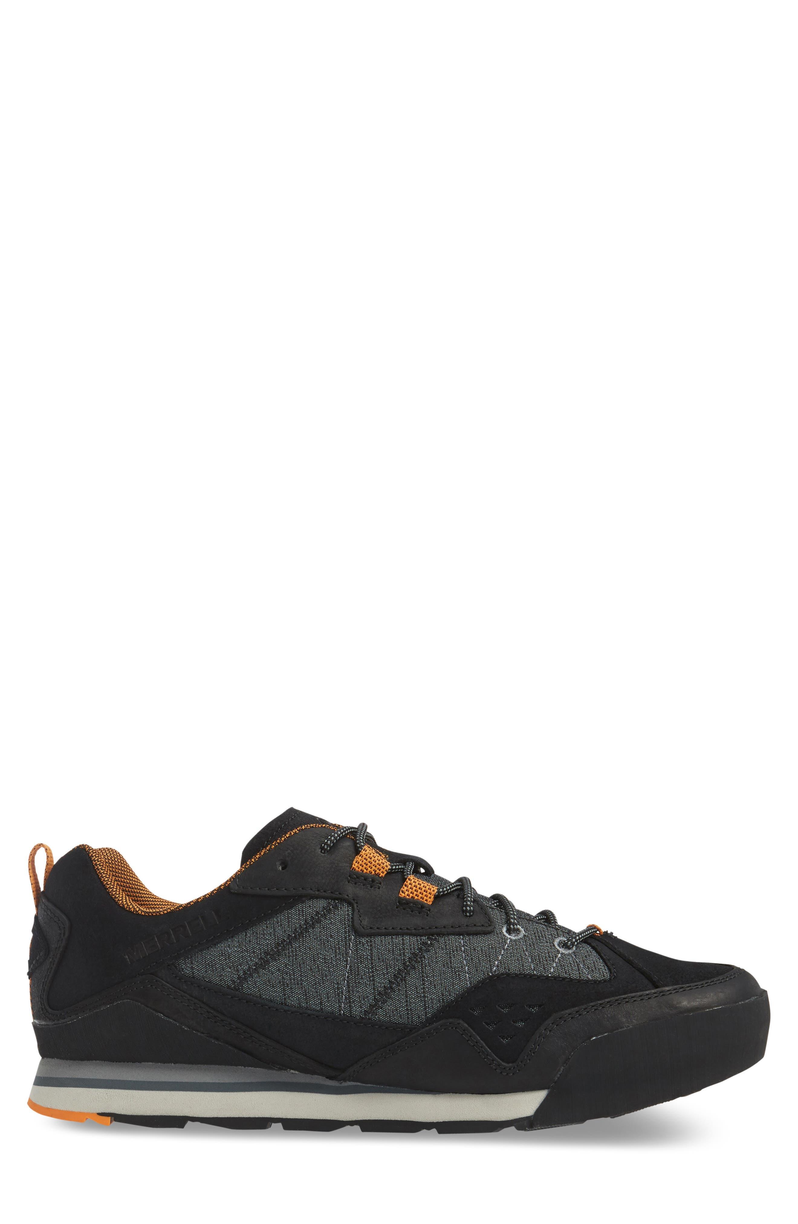 Burnt Rock Sneaker,                             Alternate thumbnail 3, color,                             Black