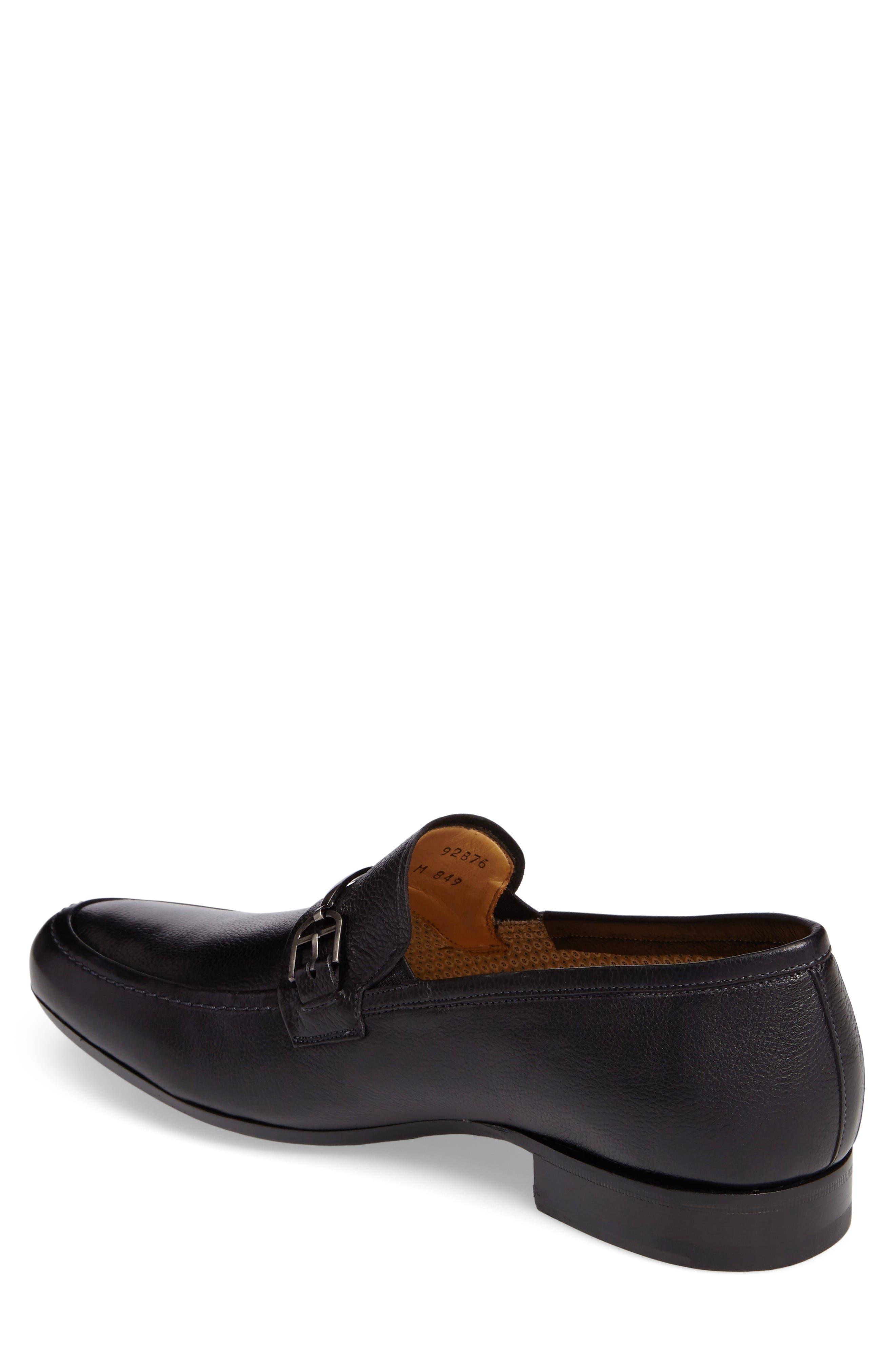 Binet Bit Loafer,                             Alternate thumbnail 2, color,                             Black Leather