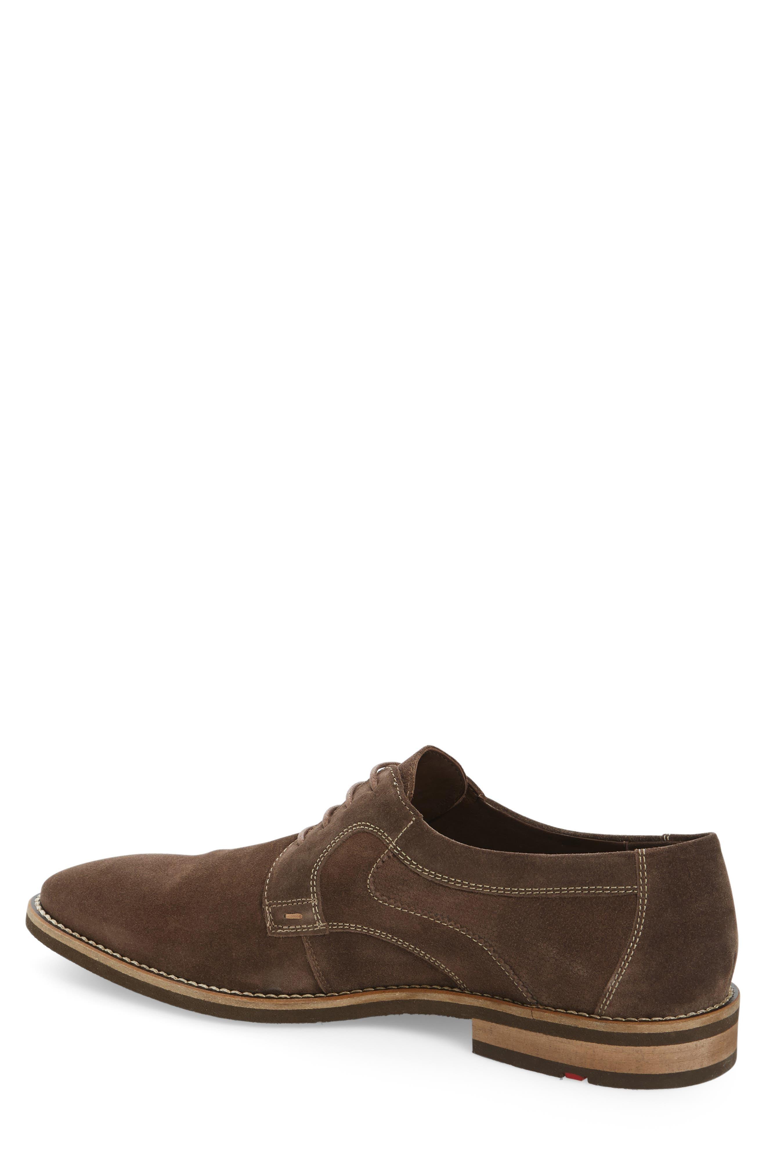 Haarlem Buck Shoe,                             Alternate thumbnail 2, color,                             Noce Brown