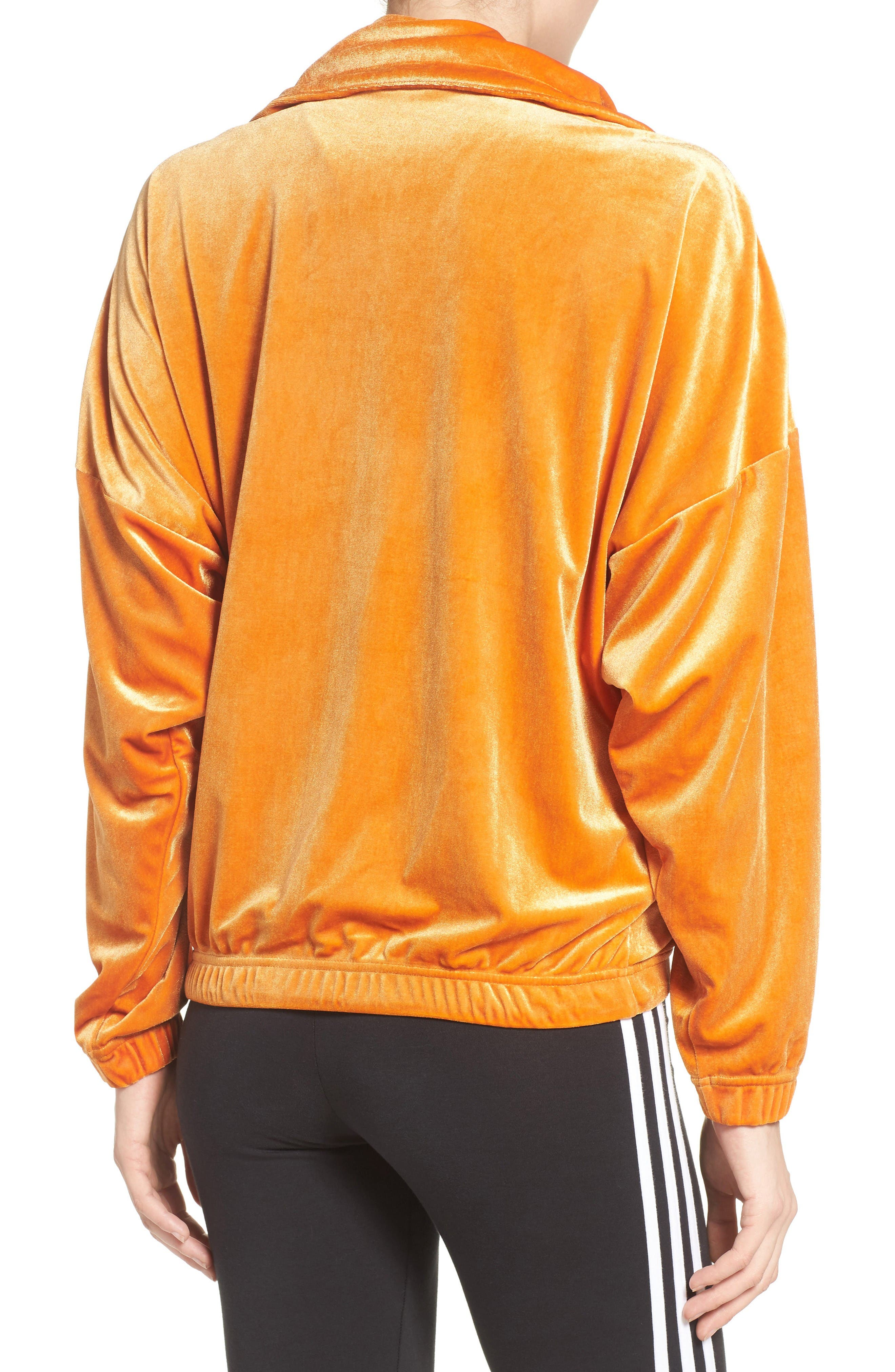 Alternate Image 2  - adidas Originals Oversize Track Jacket