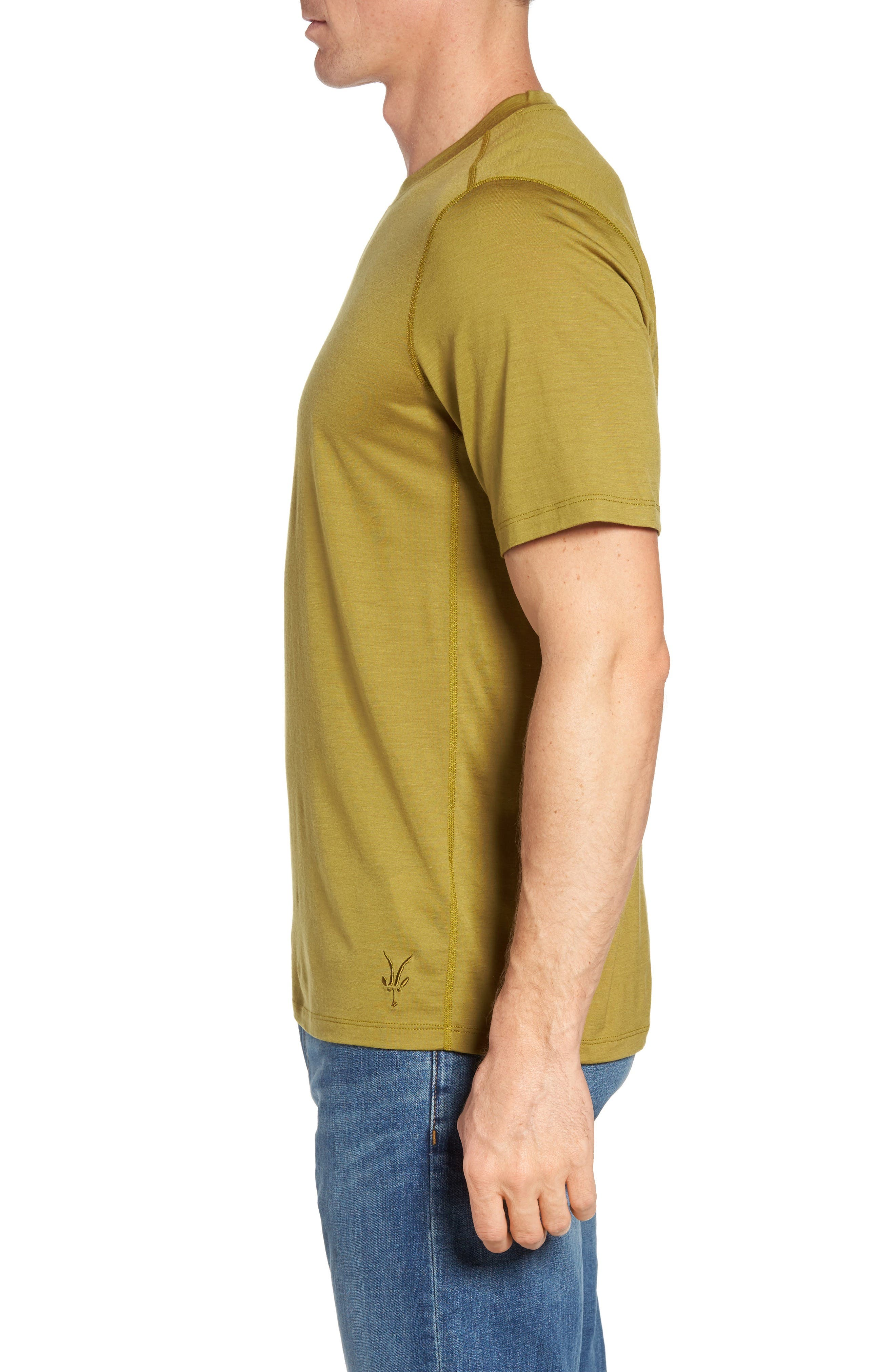Alternate Image 3  - ibex 'All Day Weightless Wool Blend' T-Shirt