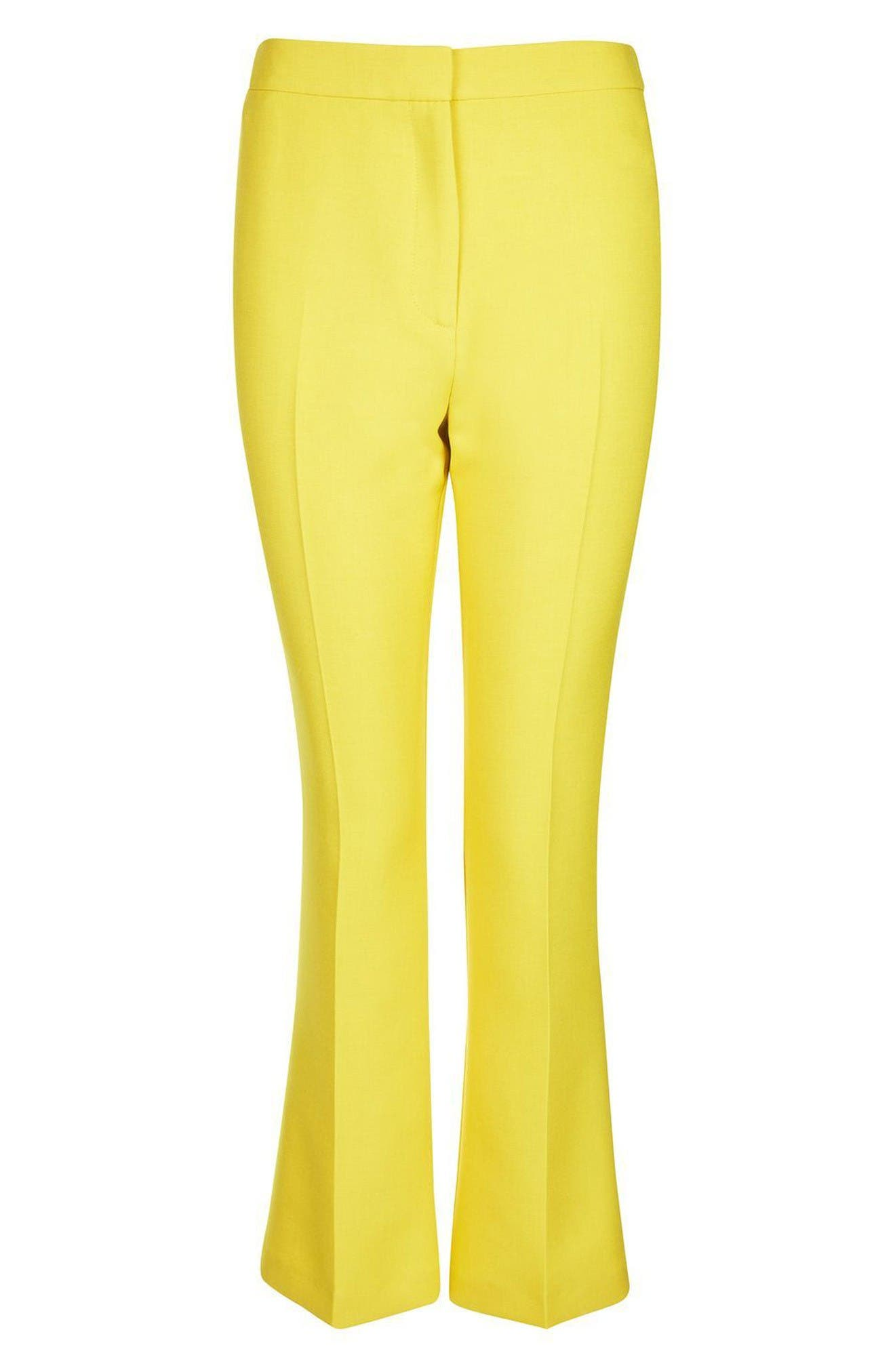 Alternate Image 4  - Topshop Crop Kick Flare Trousers