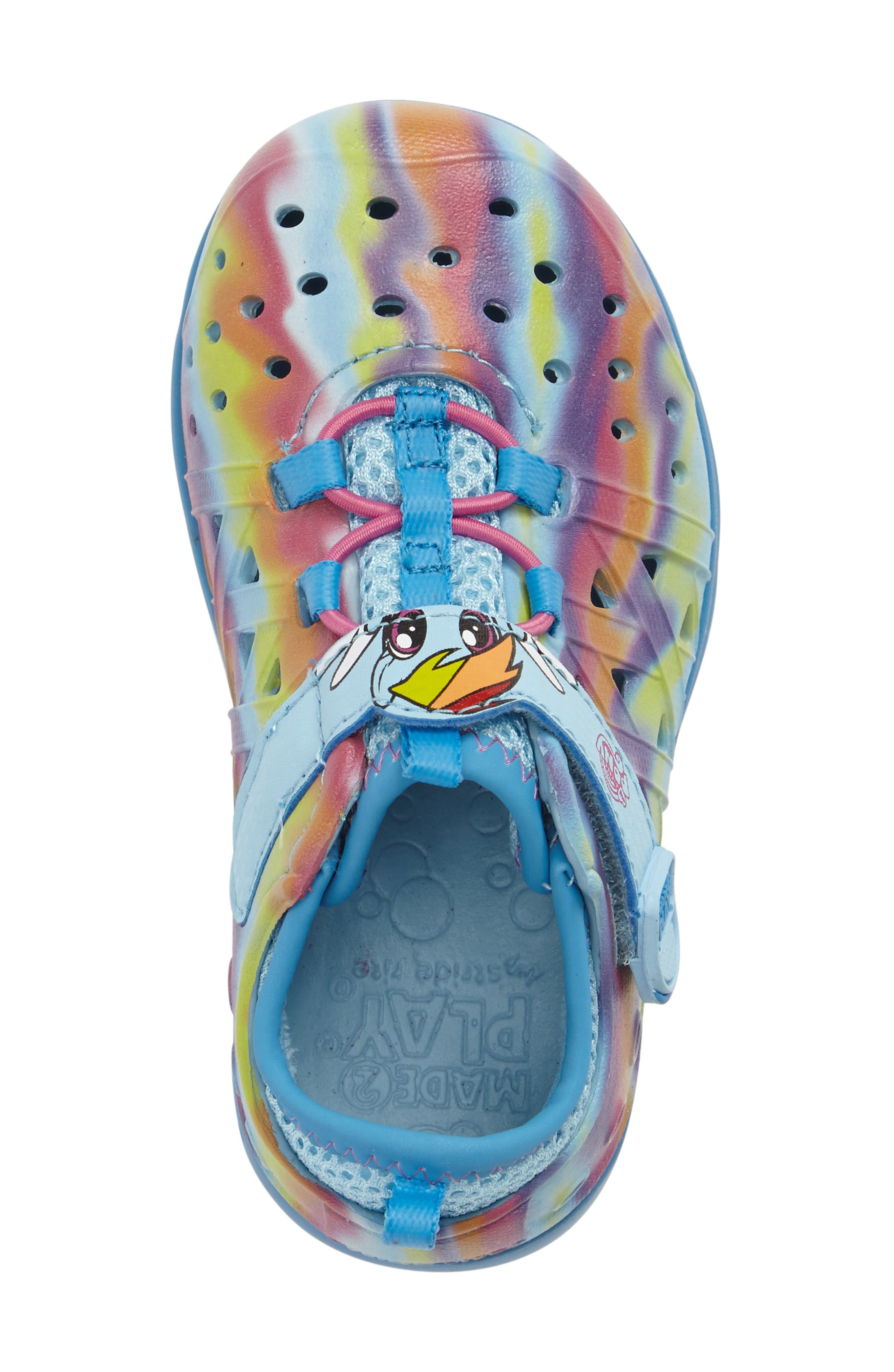 Made2Play<sup>®</sup> My Little Pony<sup>™</sup> Phibian Sneaker,                             Alternate thumbnail 5, color,                             Rainbow Turquoise