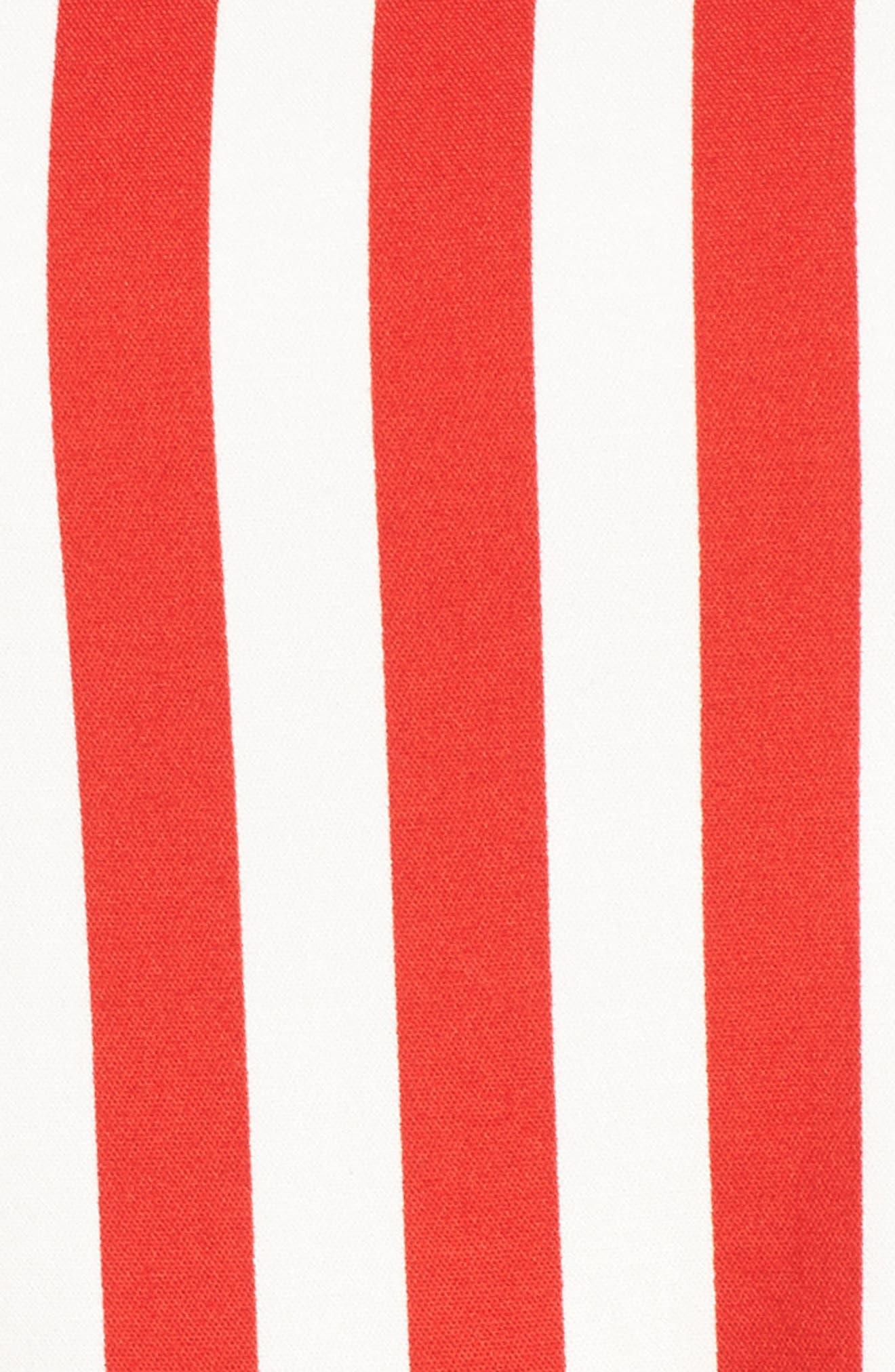 Alternate Image 5  - Anne Klein Stripe Fit & Flare Dress