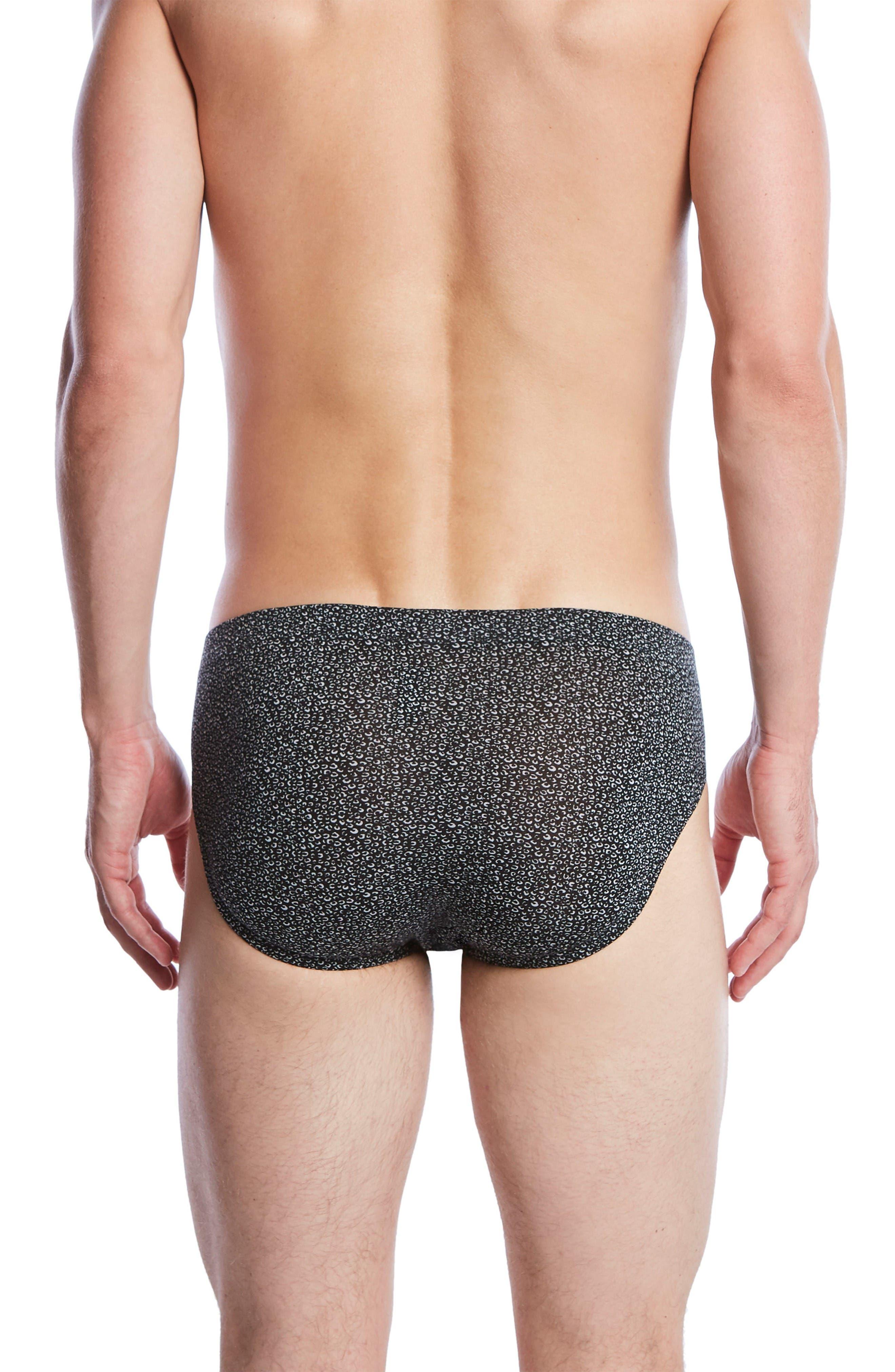 Alternate Image 2  - 2(x)ist Mod Stretch Bikini Briefs