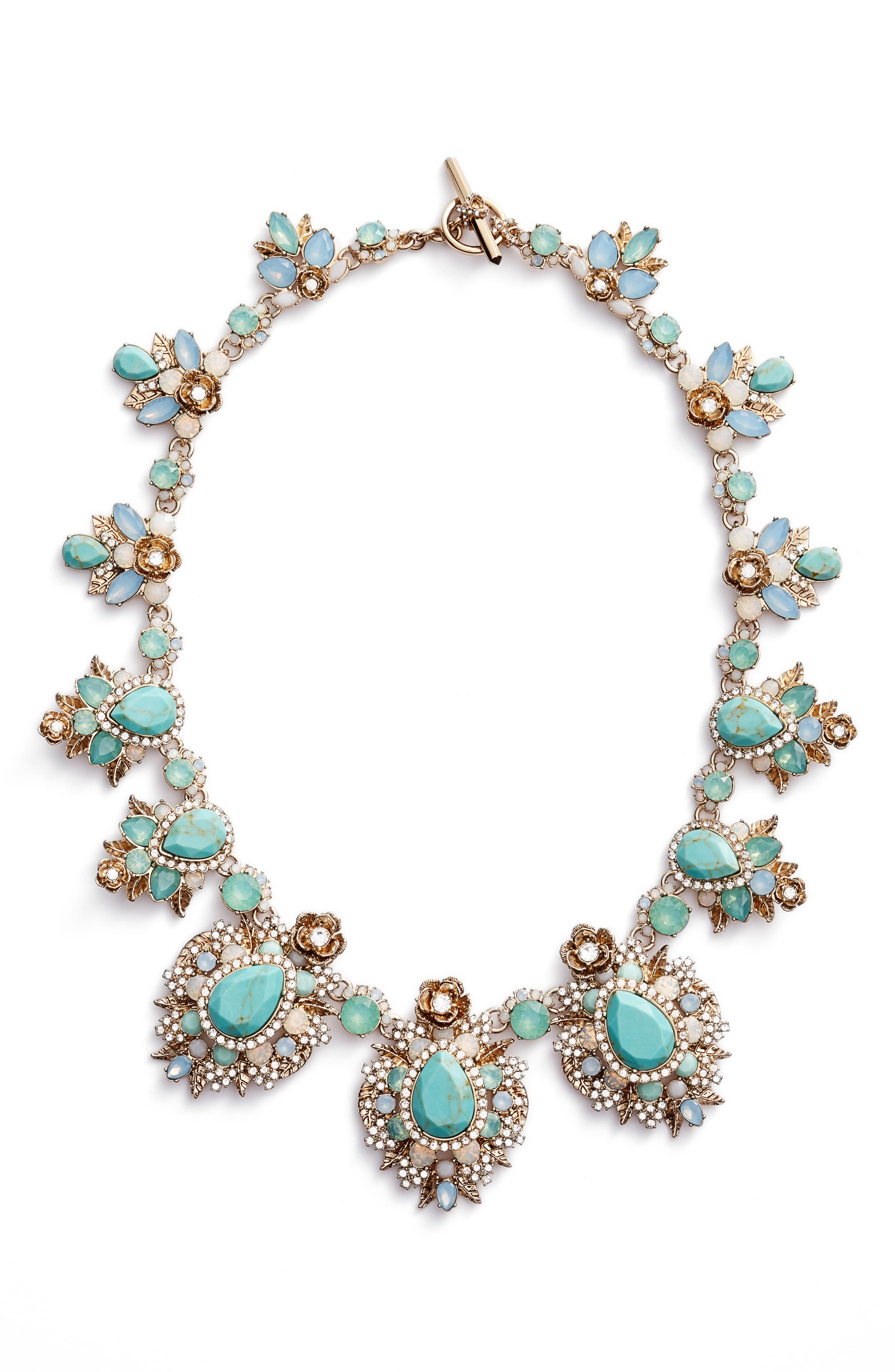 Alternate Image 1 Selected - Marchesa Bright Paradise Drama Collar Necklace