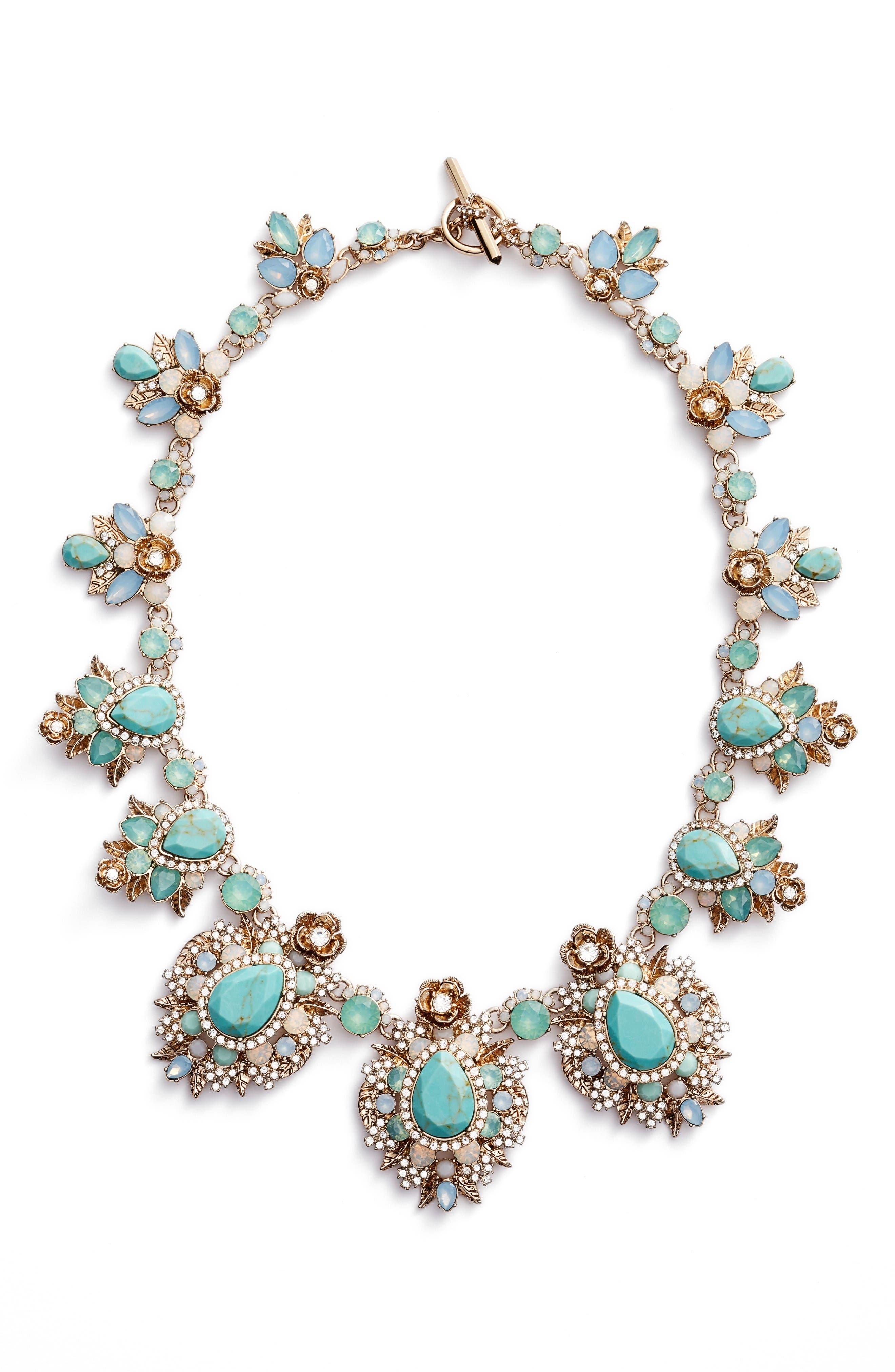 Main Image - Marchesa Bright Paradise Drama Collar Necklace