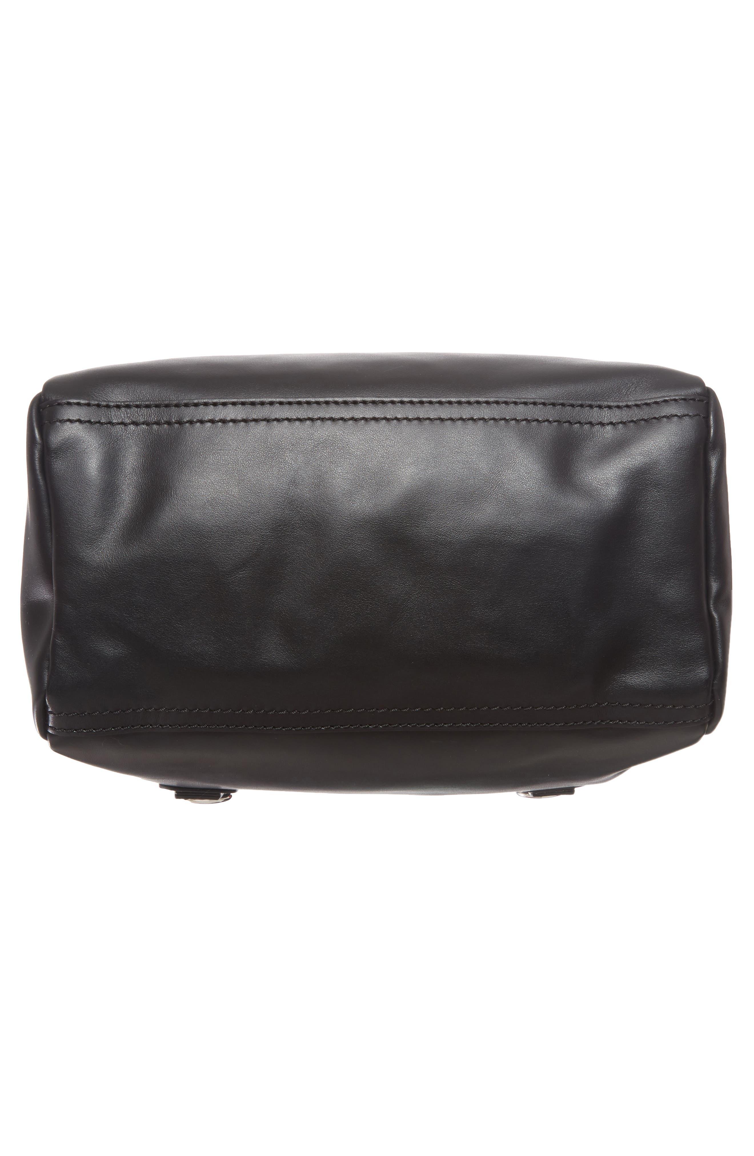 Alternate Image 6  - Givenchy Small Pandora - Logo Leather Satchel