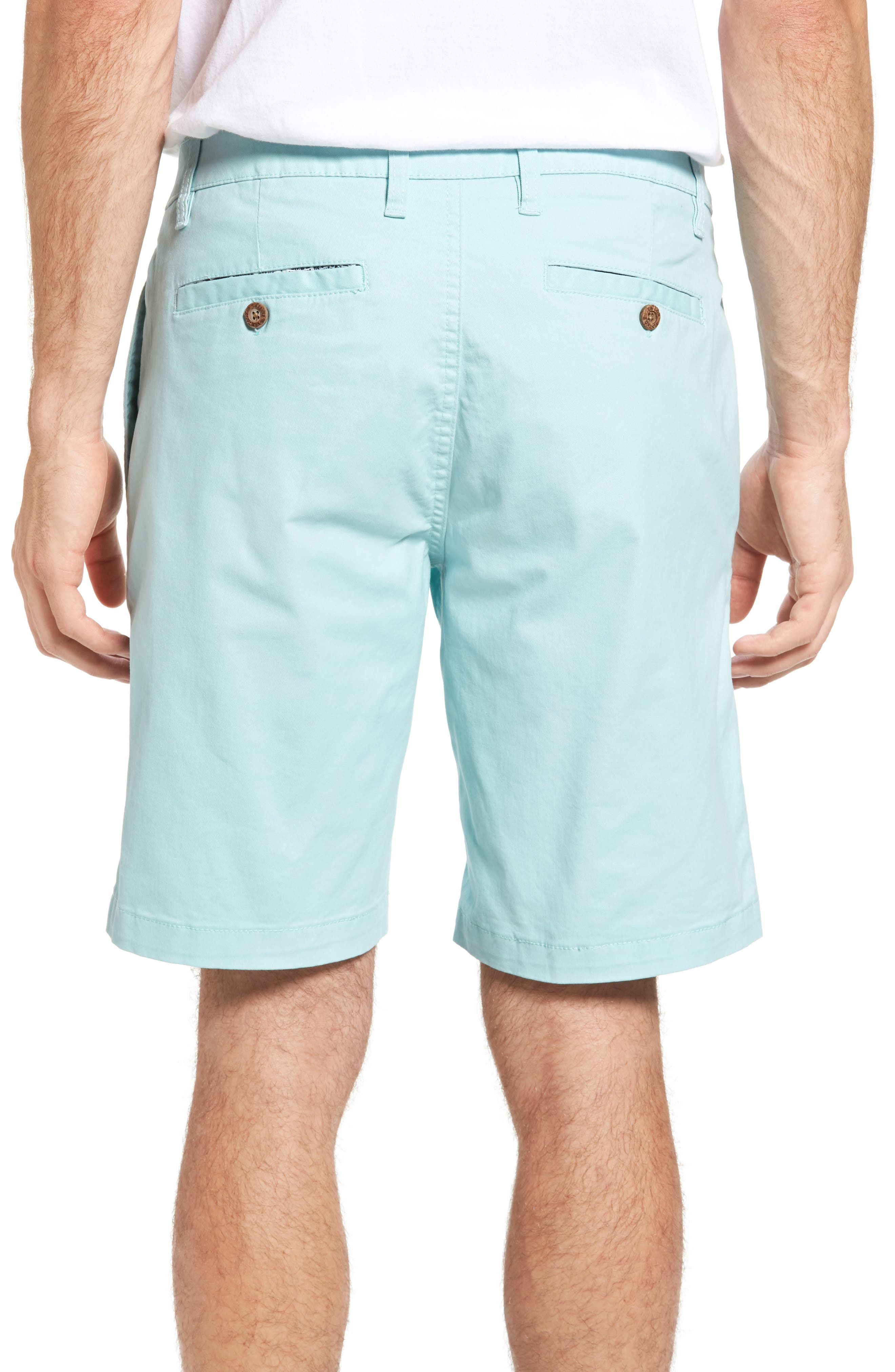 Stretch Twill Walking Shorts,                             Alternate thumbnail 2, color,                             Canal Blue