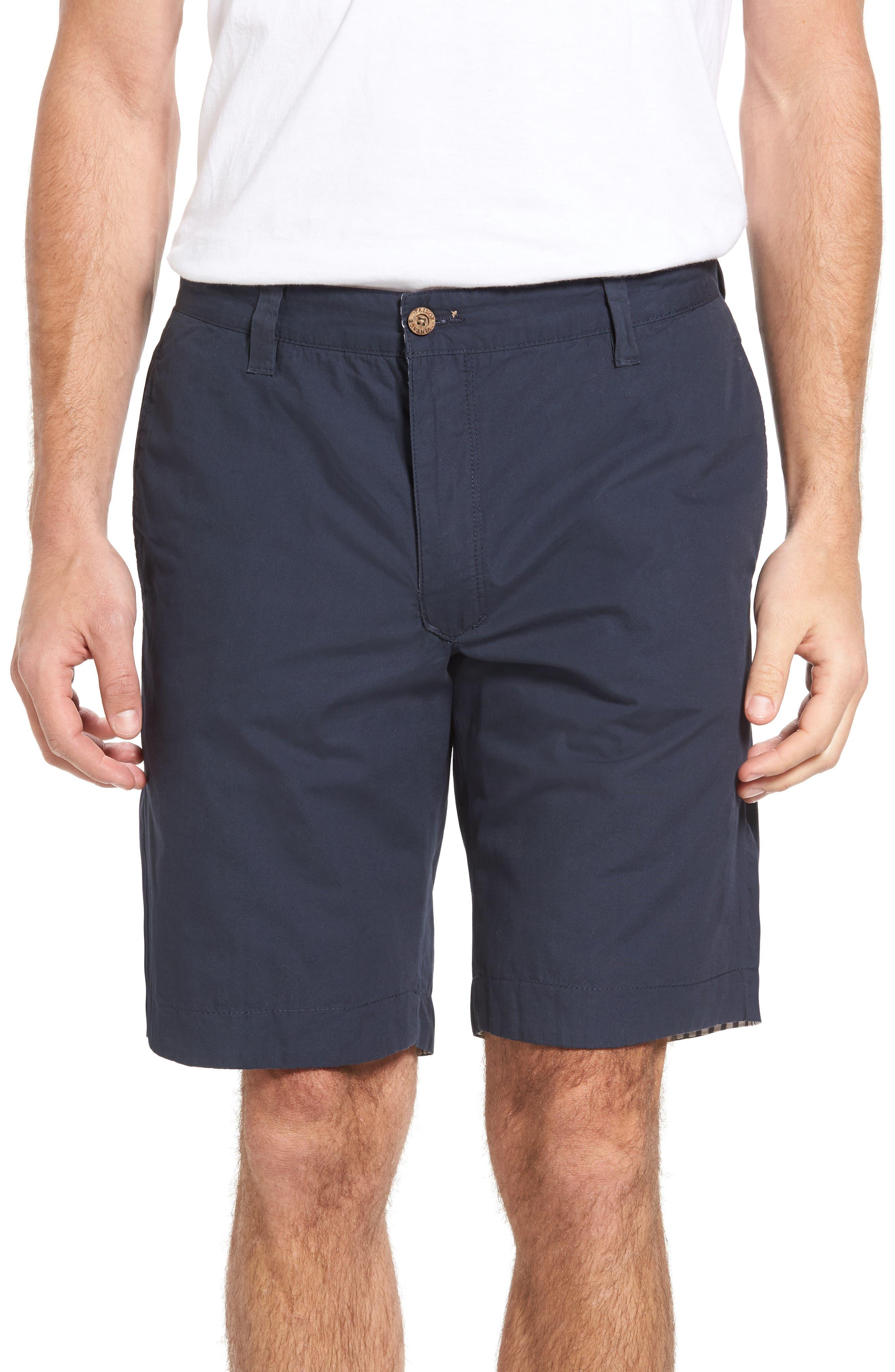 Reversible Walking Shorts,                         Main,                         color, Navy/ Seersucker/ Navy