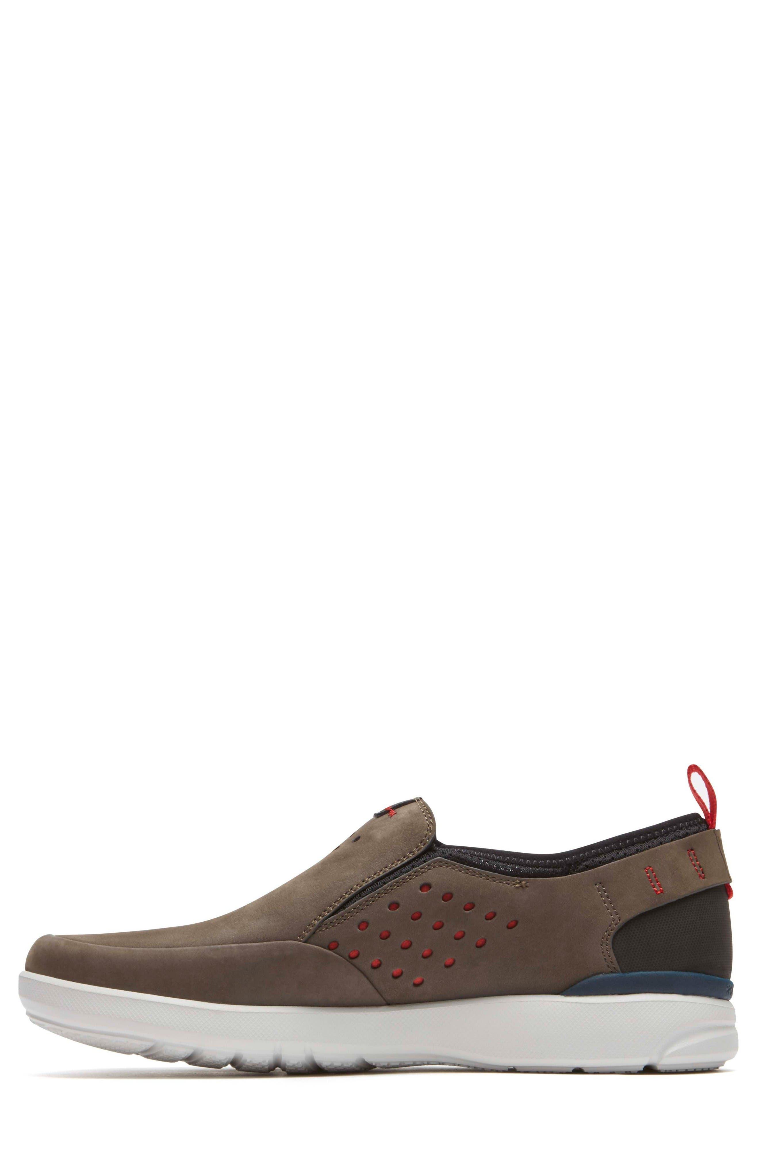 Truflex Slip-On,                             Alternate thumbnail 2, color,                             Dark Olive Leather