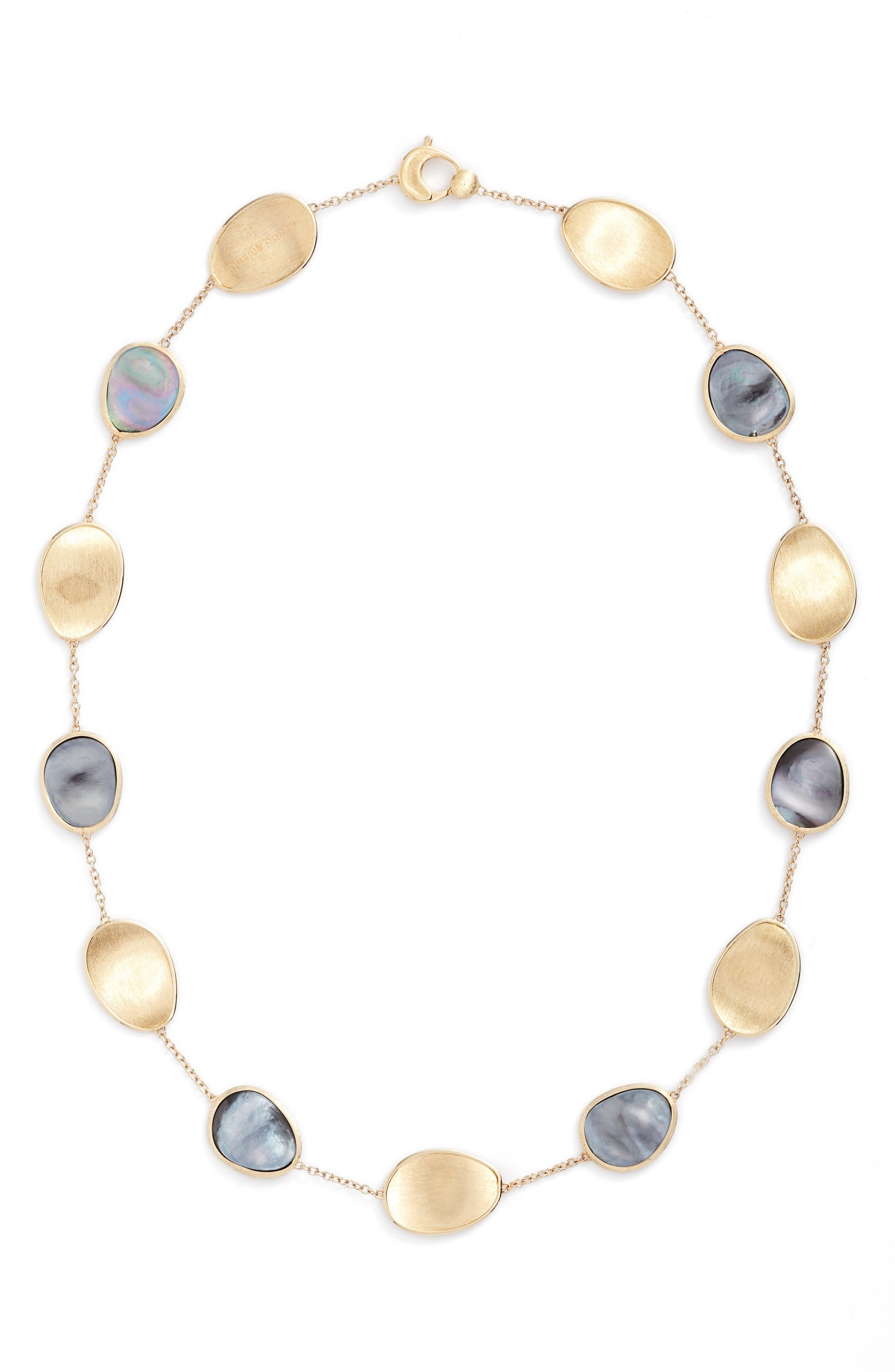 Alternate Image 1 Selected - Marco Bicego Lunaria Mother of Pearl Collar Necklace