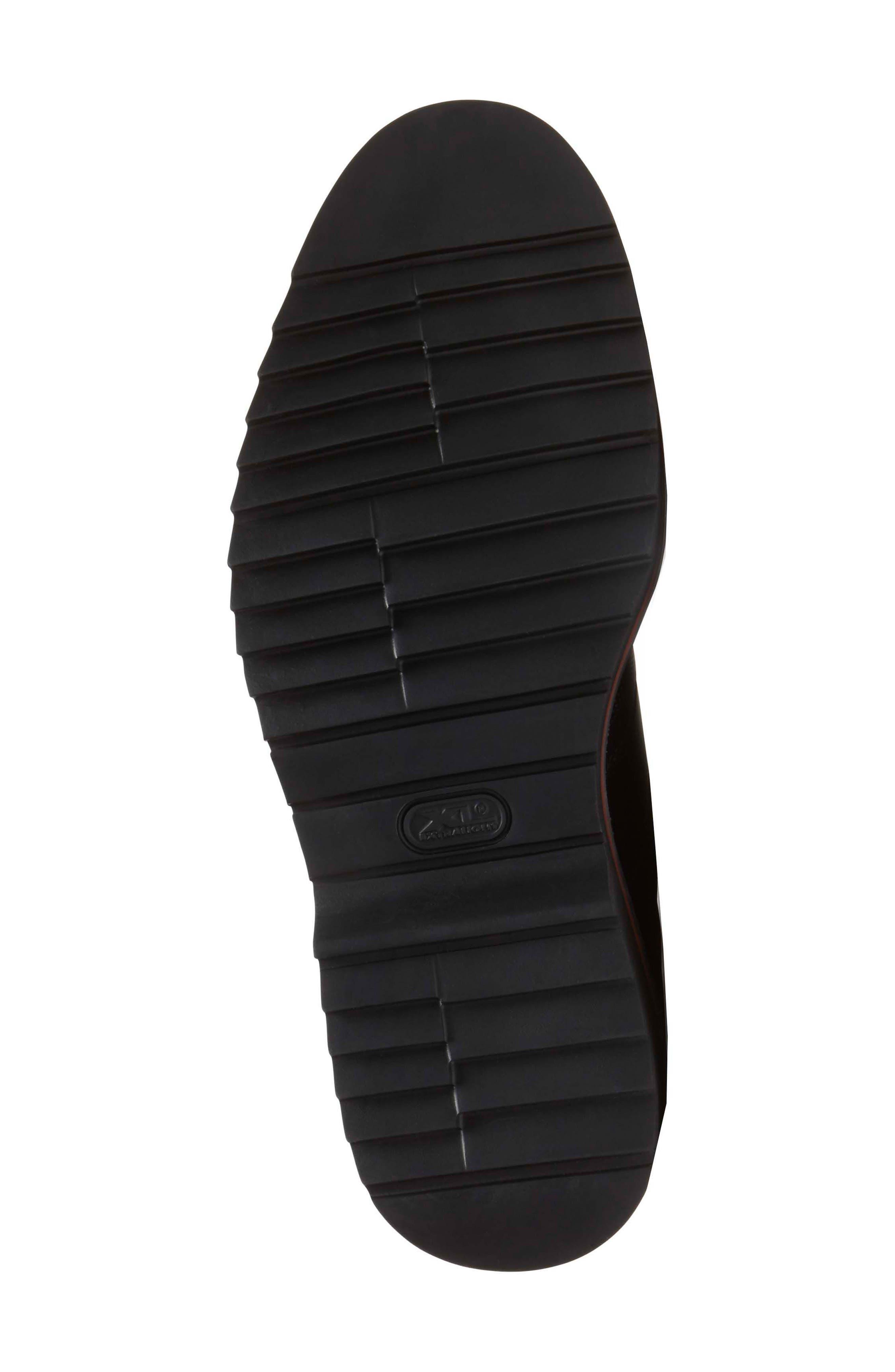 Jaxson Wingtip,                             Alternate thumbnail 5, color,                             Black Leather