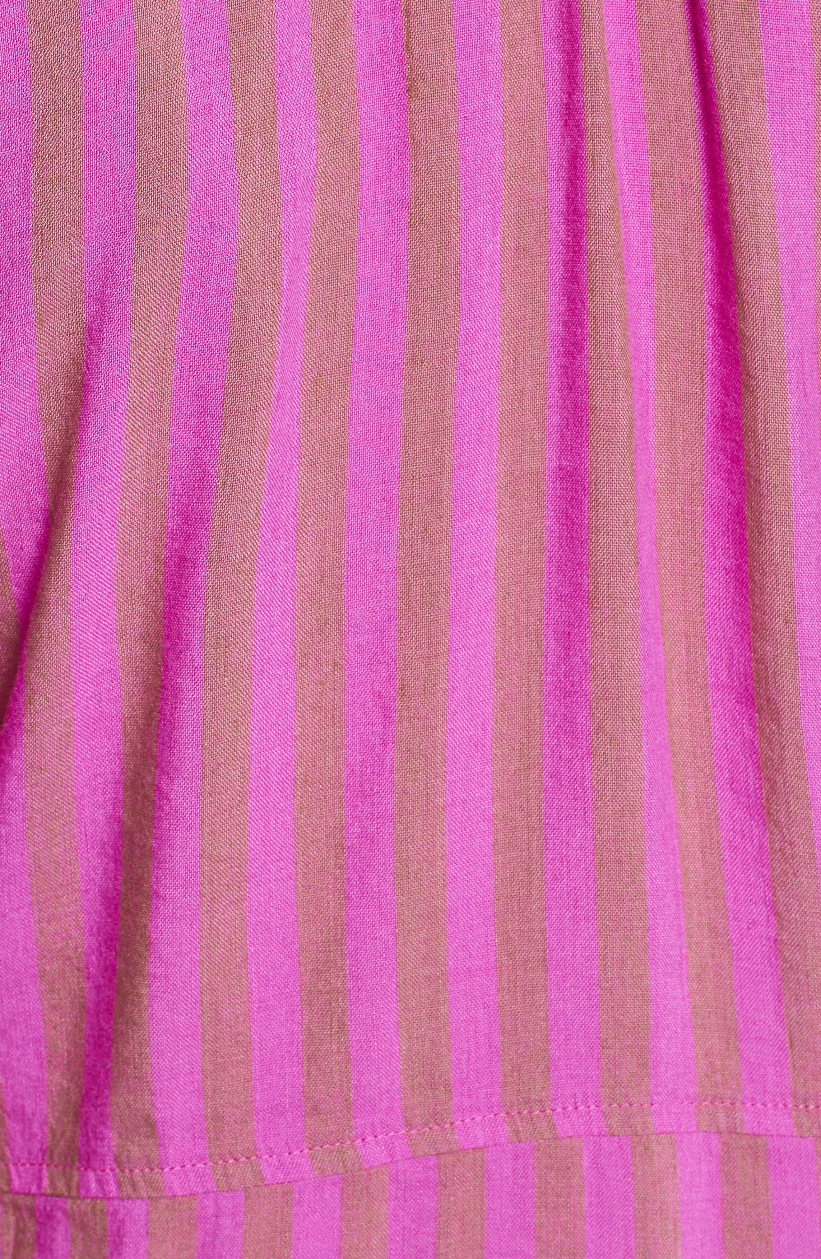 Folk Town Minidress,                             Alternate thumbnail 5, color,                             Purple Combo