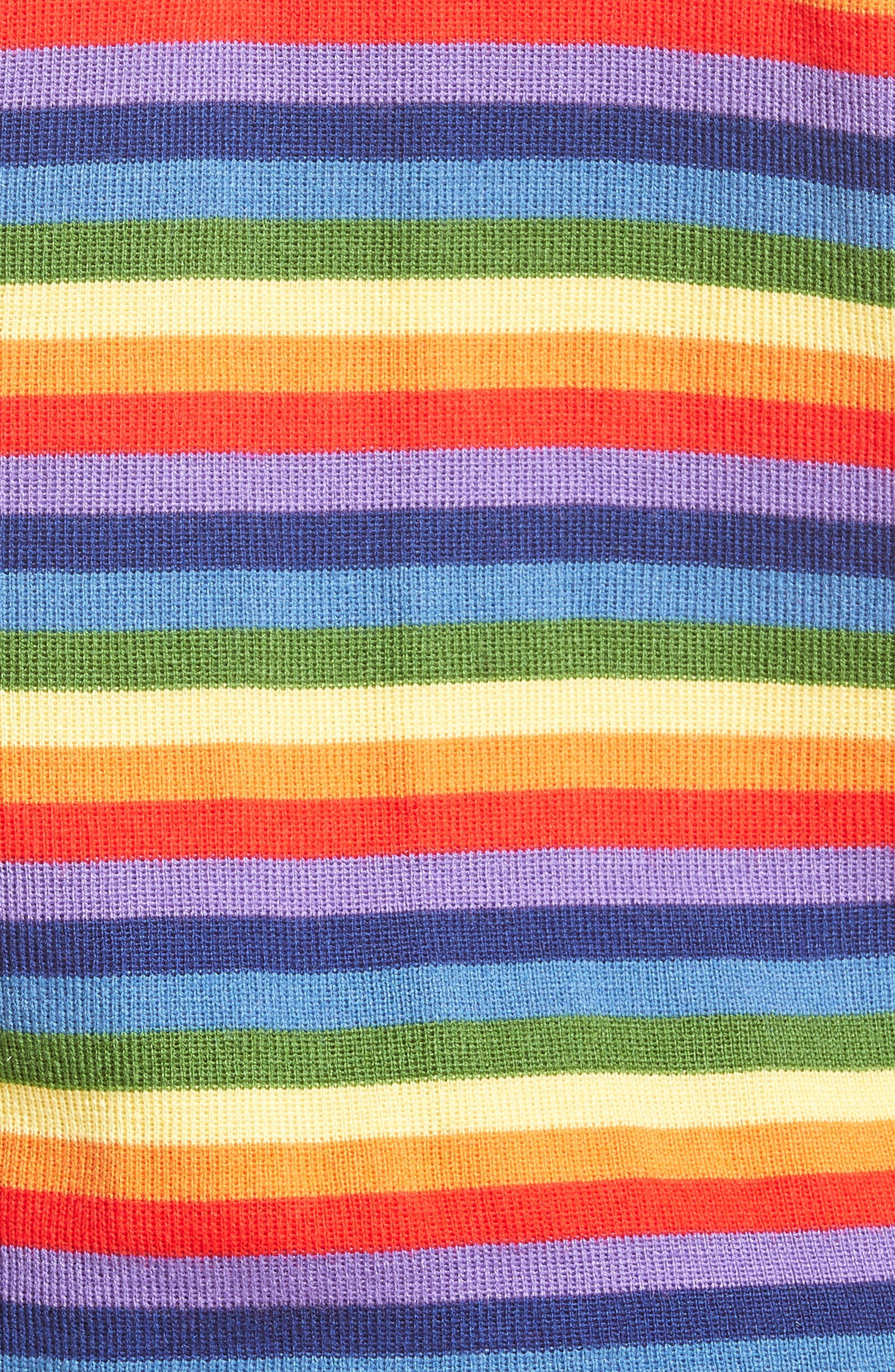 Charlie Rainbow Sweater,                             Alternate thumbnail 3, color,                             Rainbow