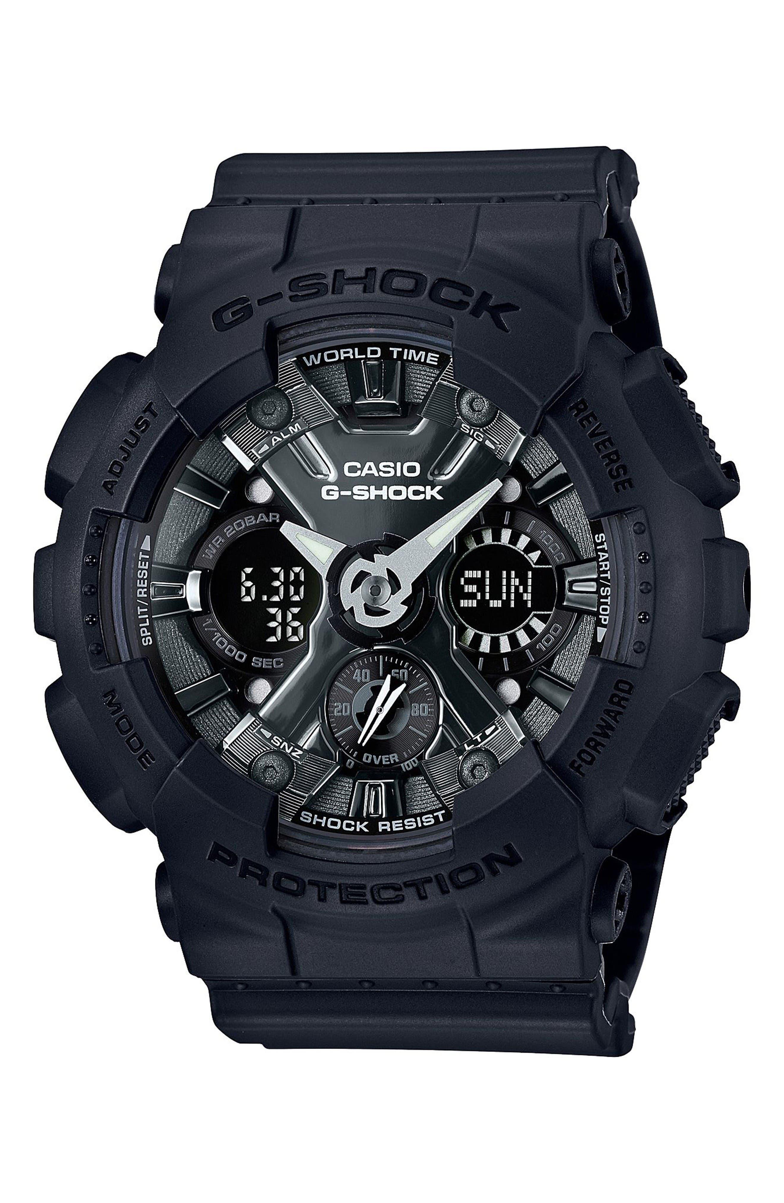 G-SHOCK BABY-G G-Shock S-Series Ana-Digi Watch, 49mm