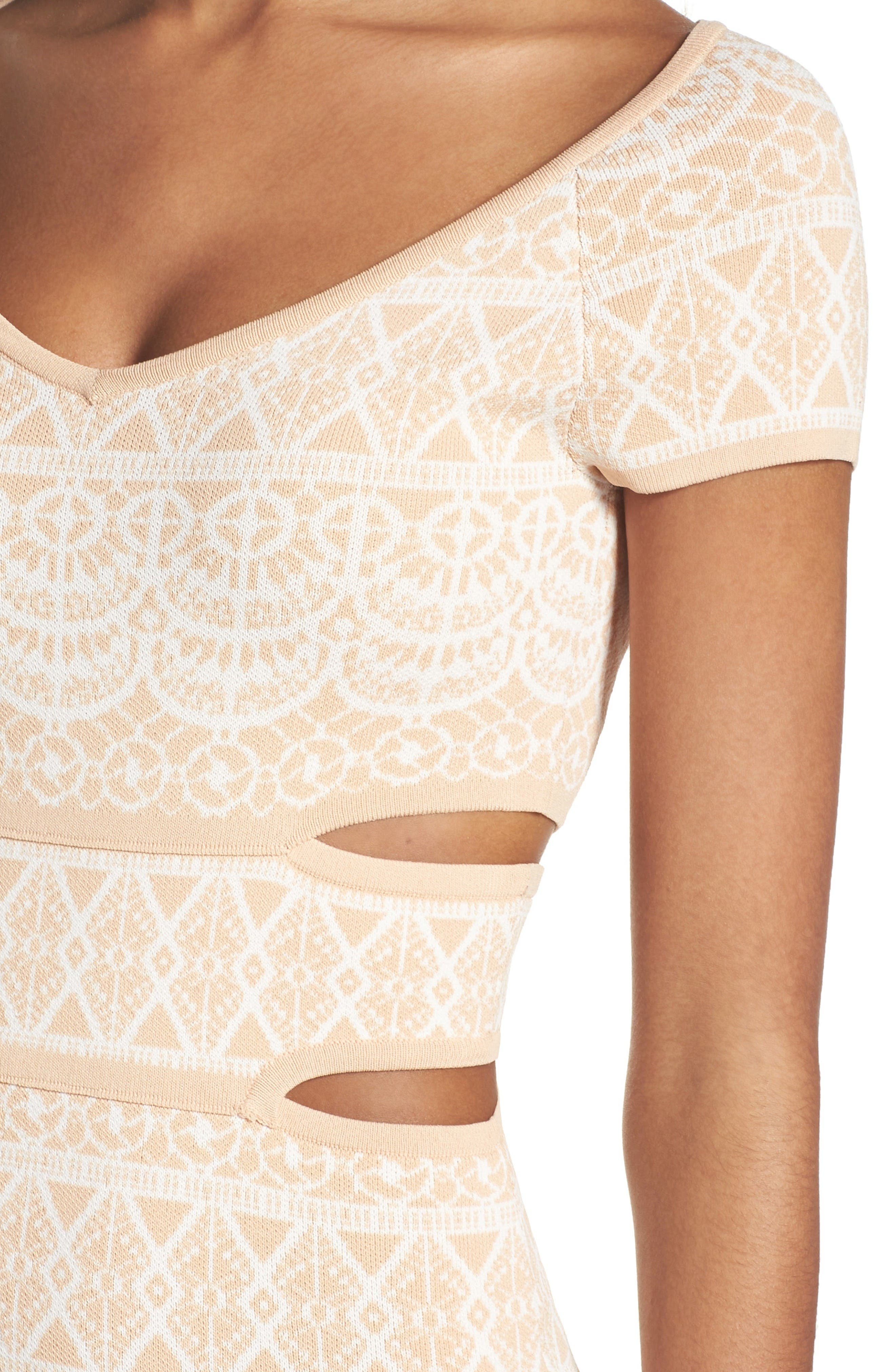 Alternate Image 5  - Ali & Jay Botanical Seduction Cutout Dress