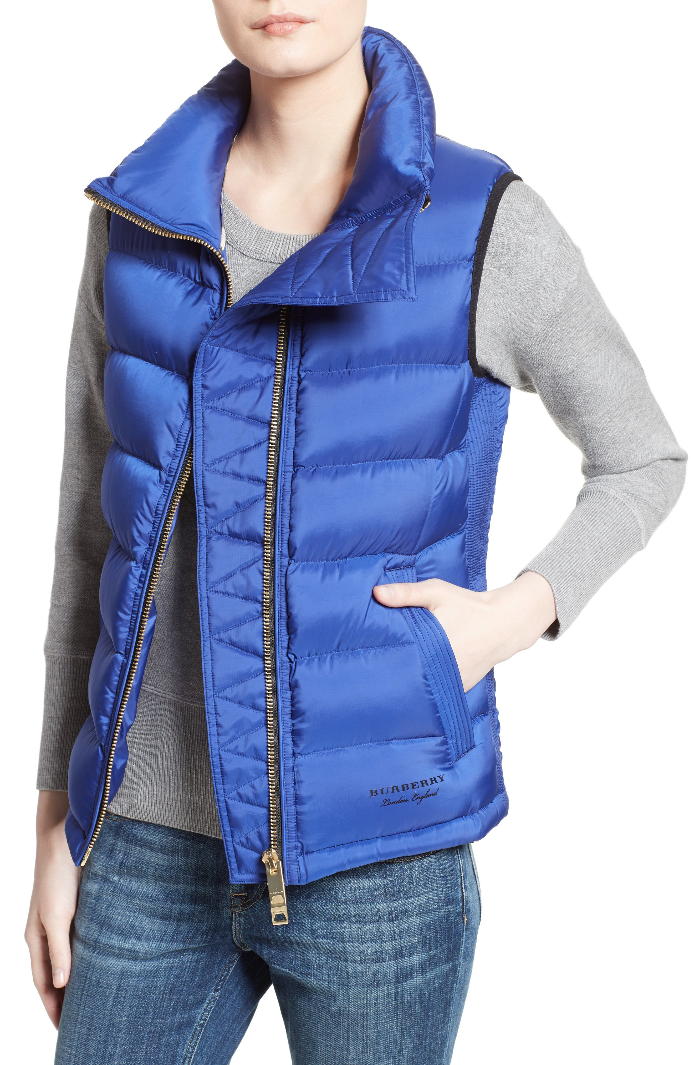 Alternate Image 5  - Burberry Bredon Quilted Puffer Vest