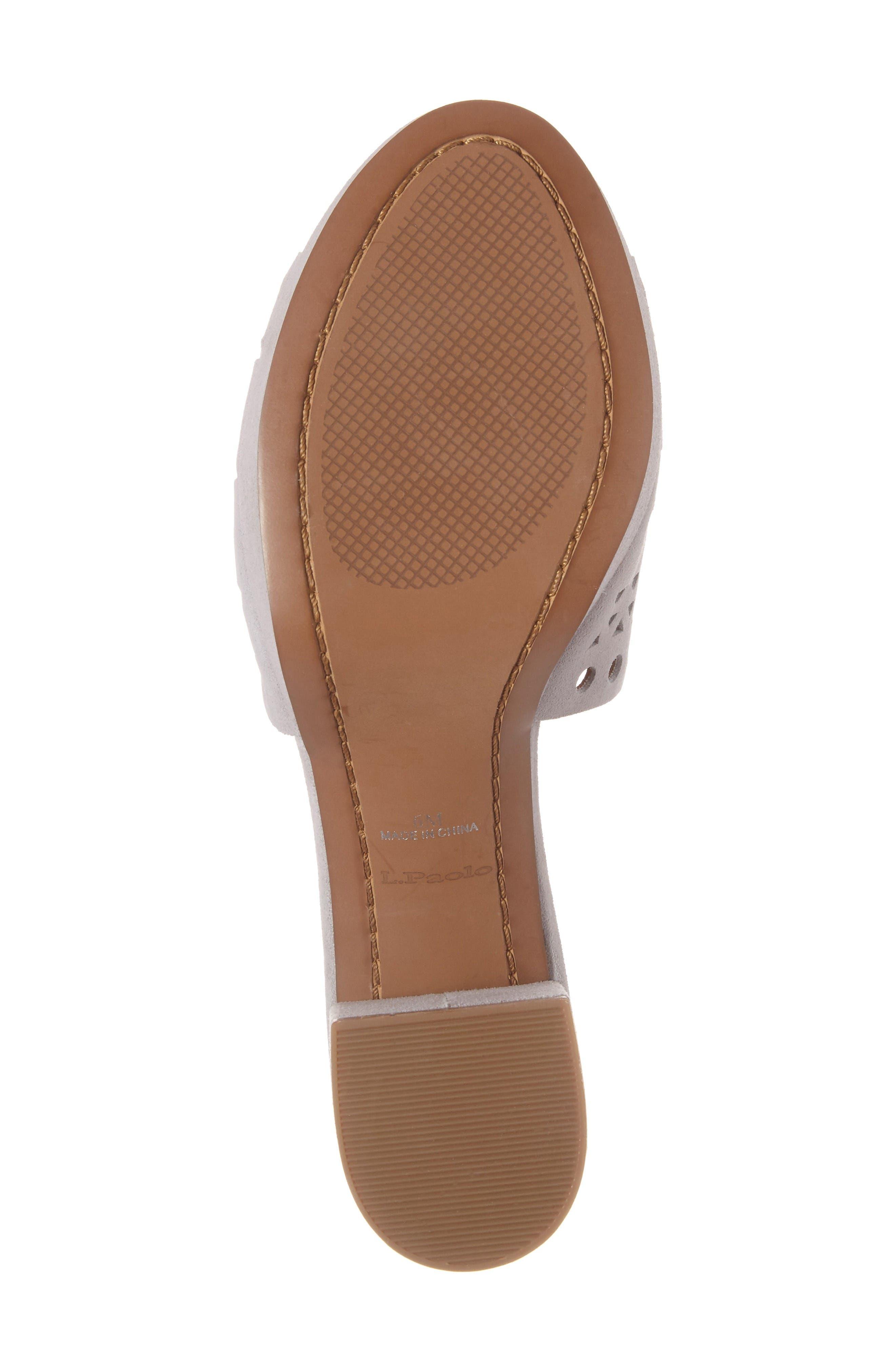 Alternate Image 6  - Linea Paolo Ofra Block Heel Mule (Women)