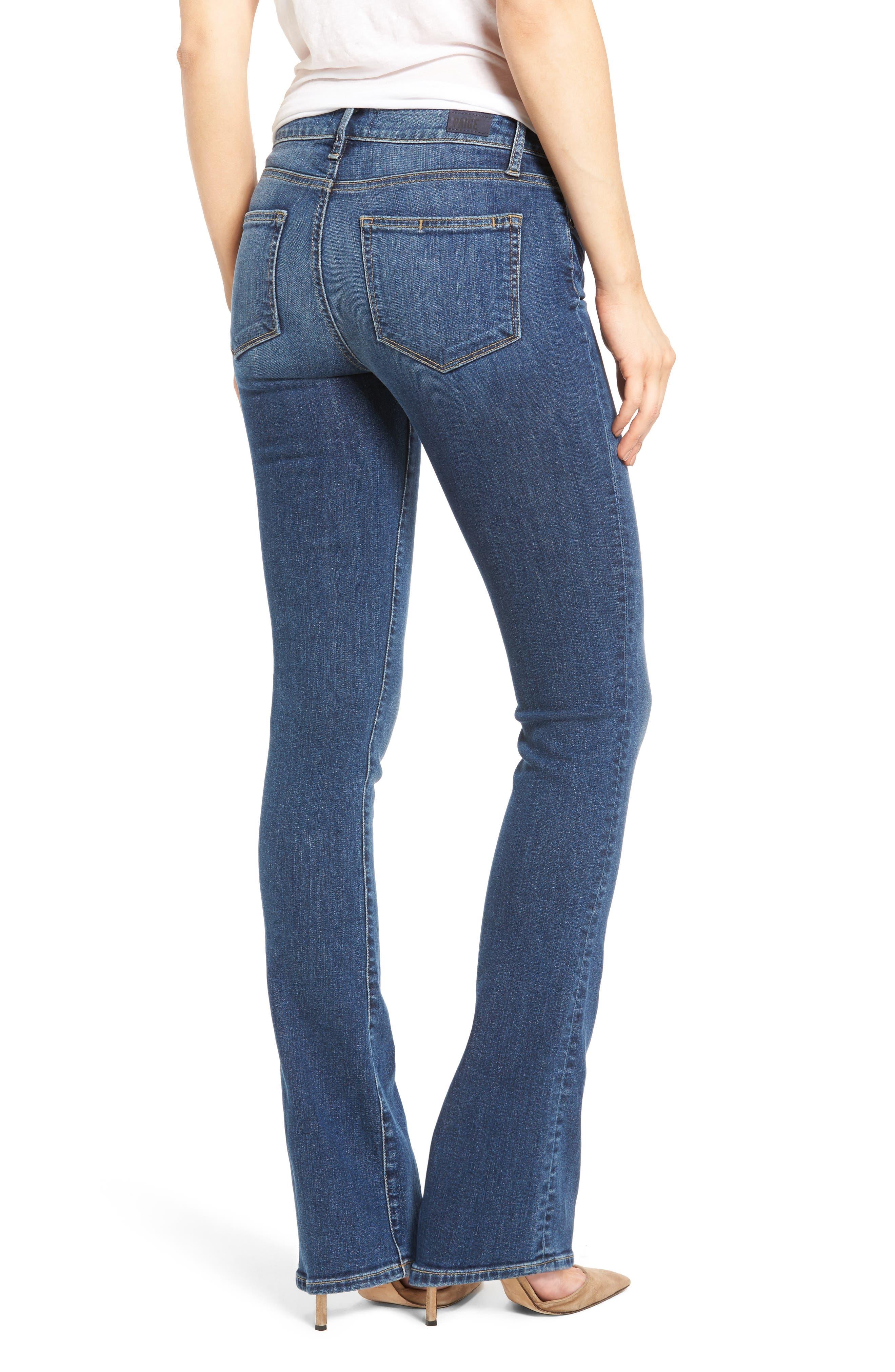 Alternate Image 2  - PAIGE Transcend - Manhattan Bootcut Jeans (Lane)