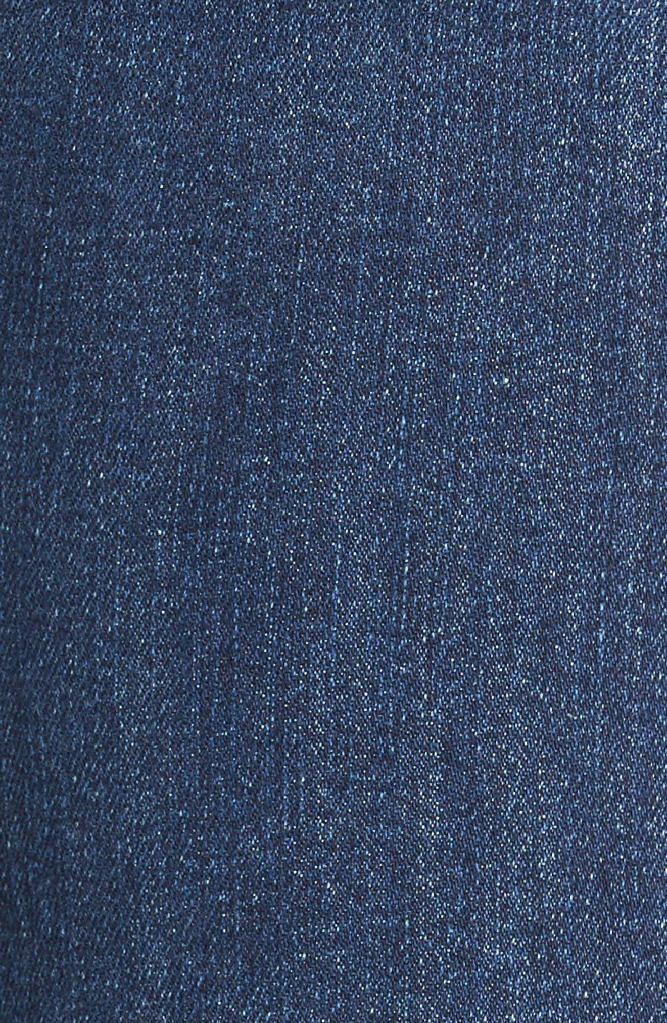 Alternate Image 5  - PAIGE Transcend - Manhattan Bootcut Jeans (Lane)