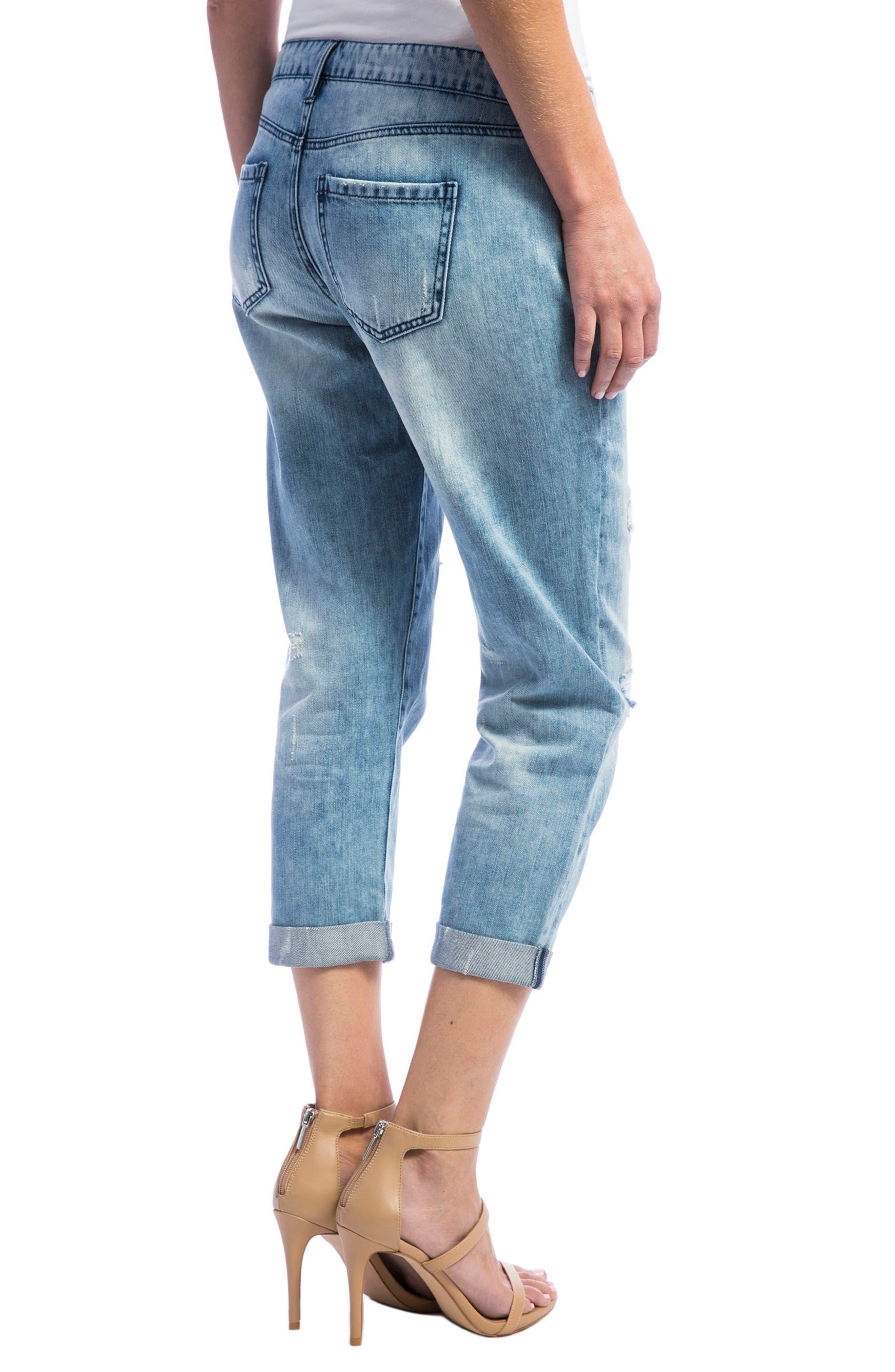 Alternate Image 3  - Liverpool Jeans Company Cameron Crop Boyfriend Jeans