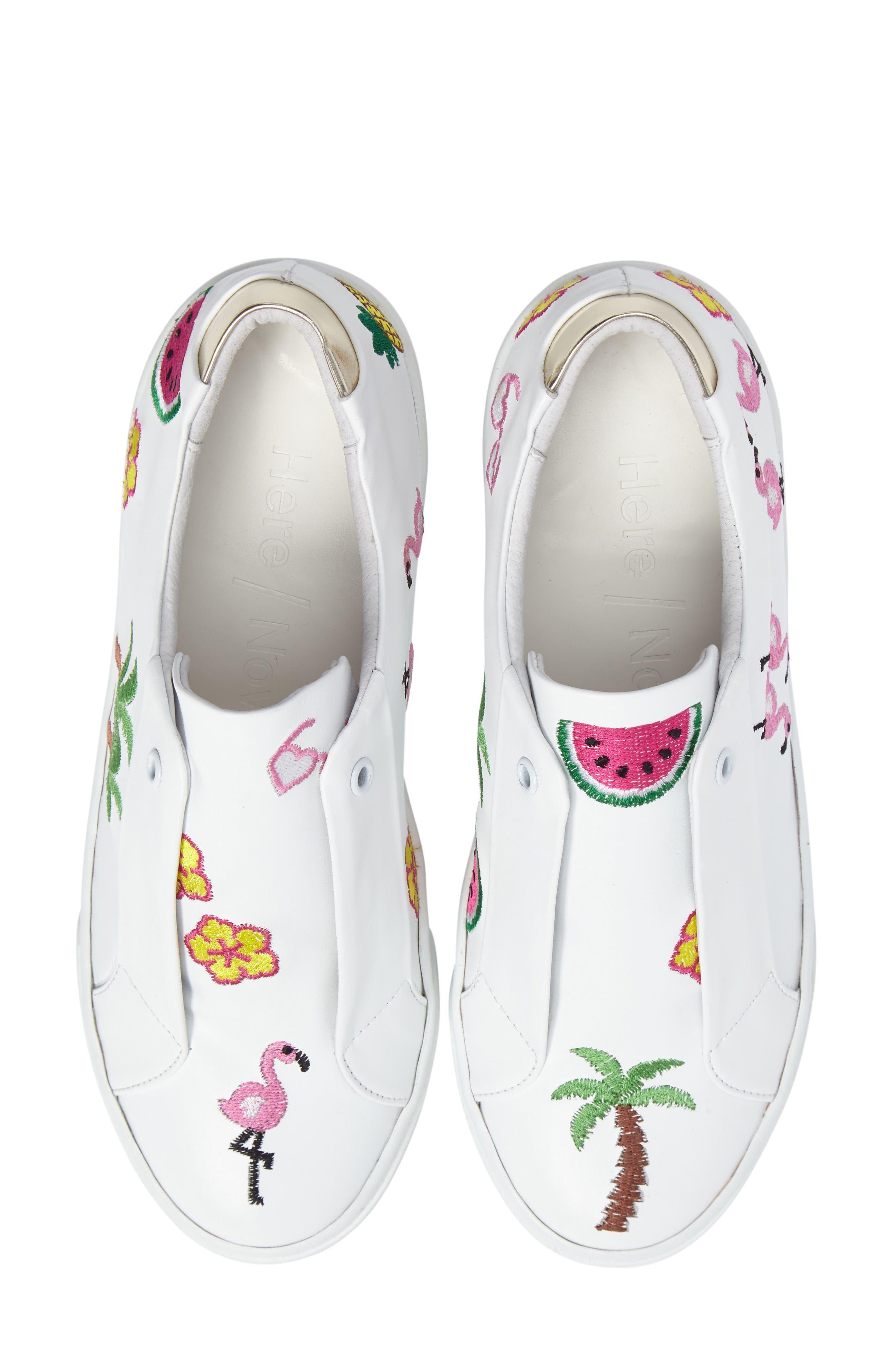 Main Image - Here / Now Kamea Slip-On Sneaker (Women)