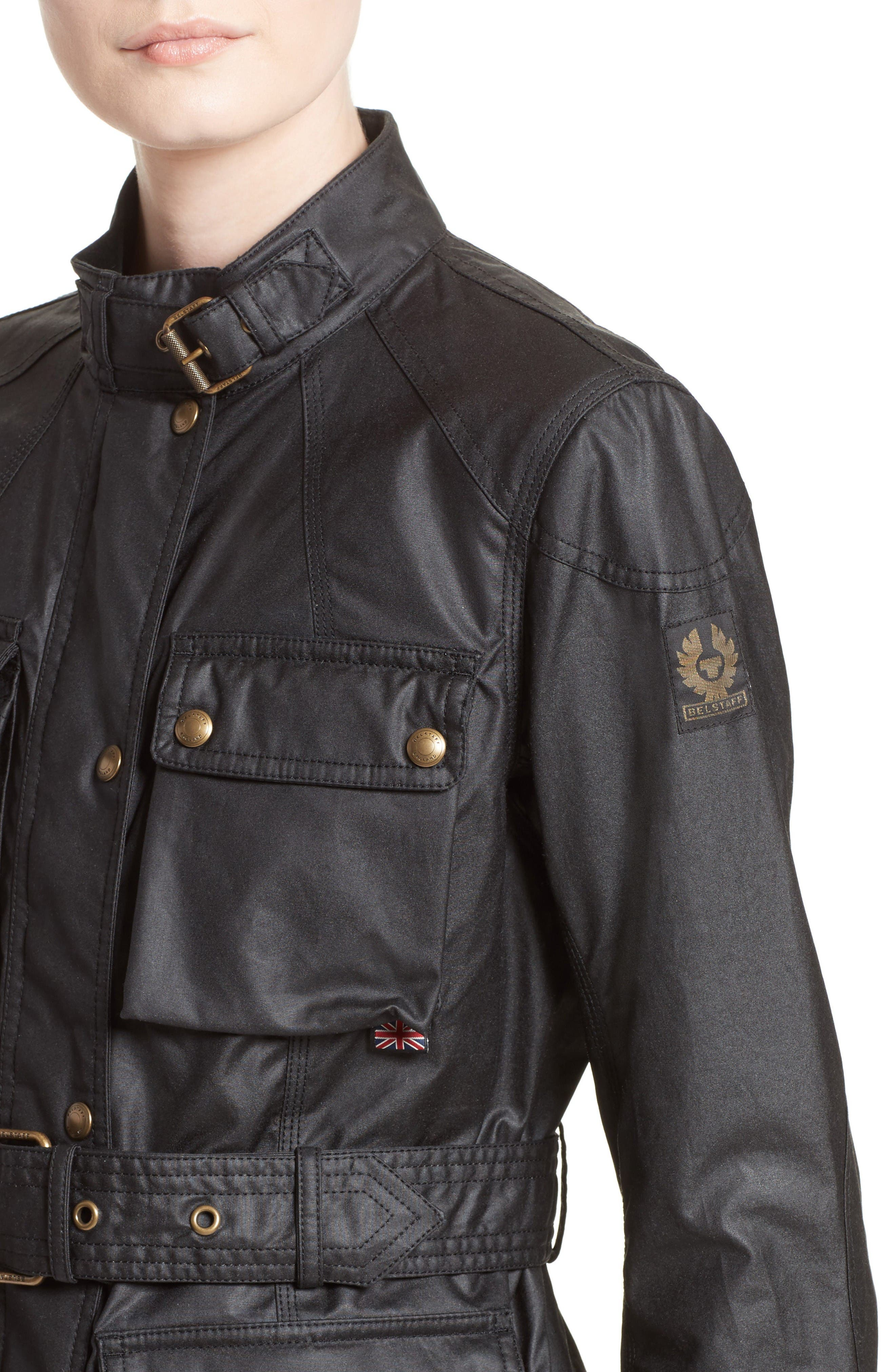 Alternate Image 6  - Belstaff 'Roadmaster' Waxed Cotton Coat