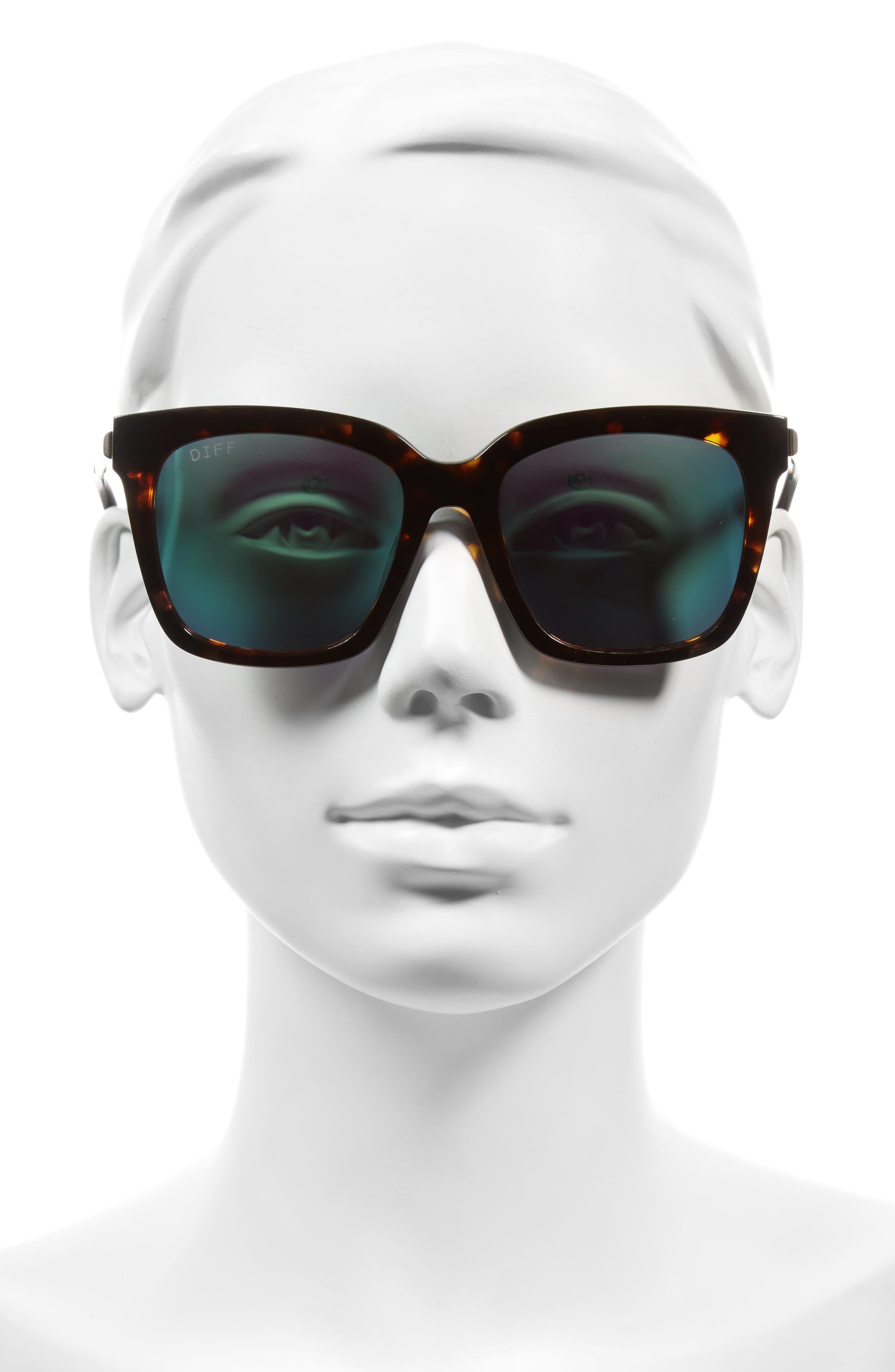 Alternate Image 4  - DIFF Bella 52mm Polarized Sunglasses