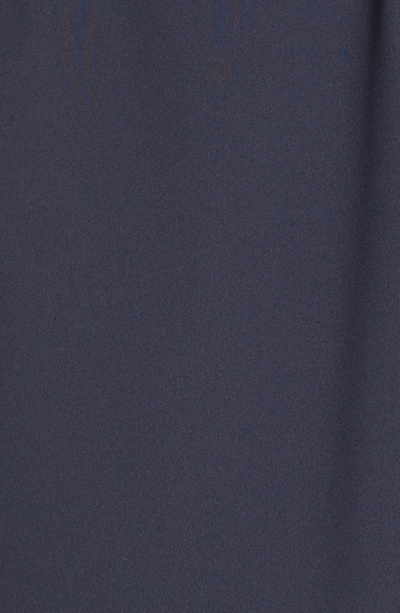 Alternate Image 6  - Eliza J Off the Shoulder Obi Dress (Regular & Petite)