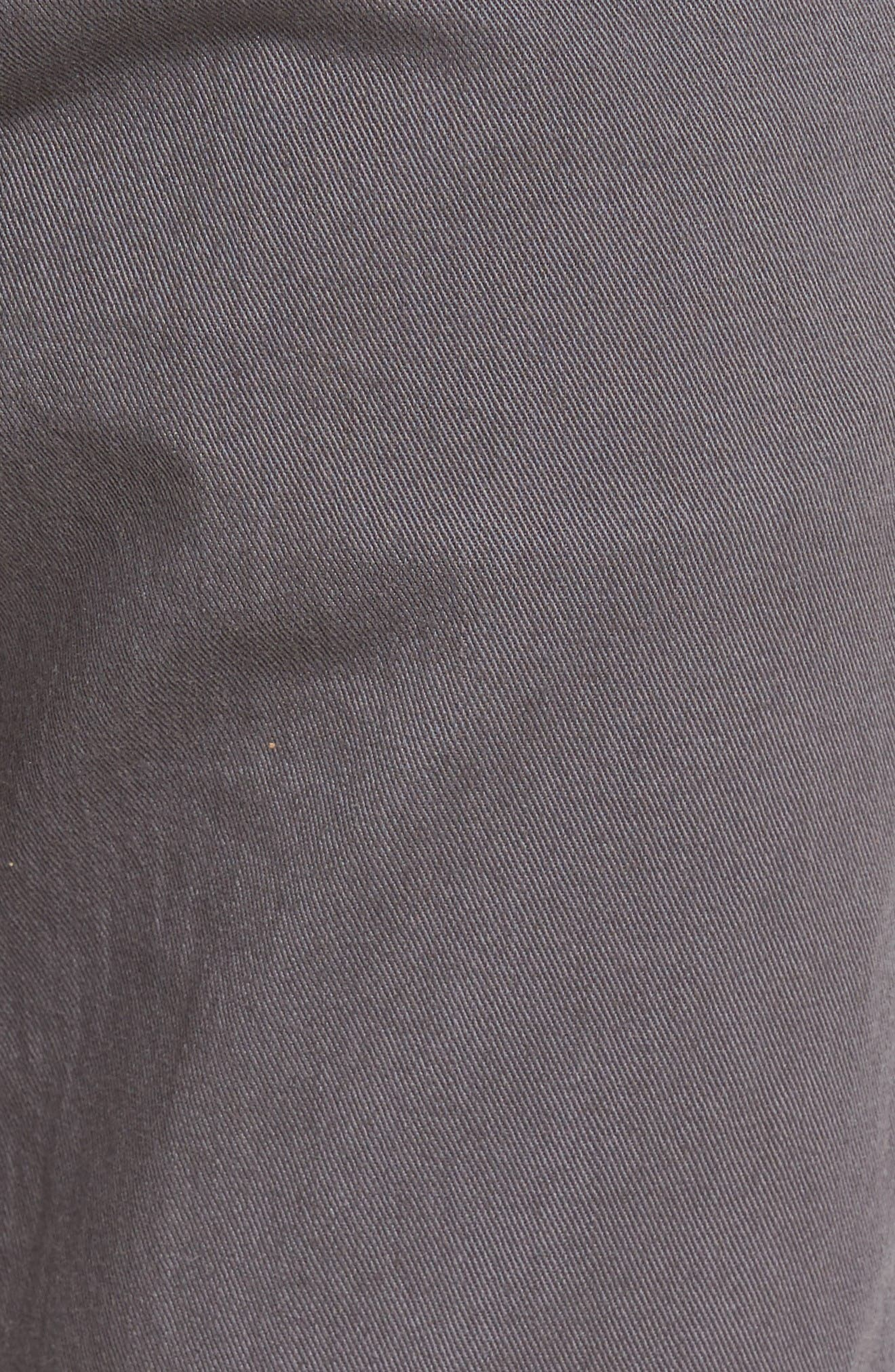 Tyler Slim Fit Jeans,                             Alternate thumbnail 5, color,                             Iron Gate