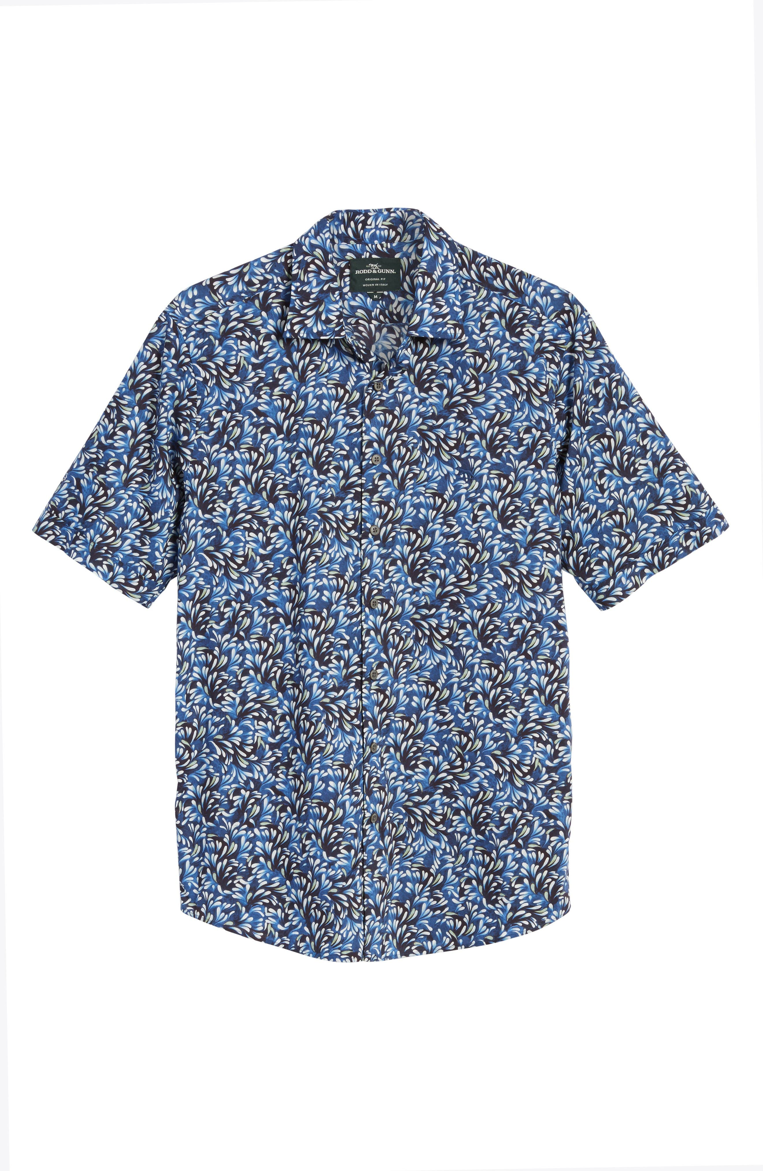 Alternate Image 6  - Rodd & Gunn Sunset Road Original Fit Print Sport Shirt