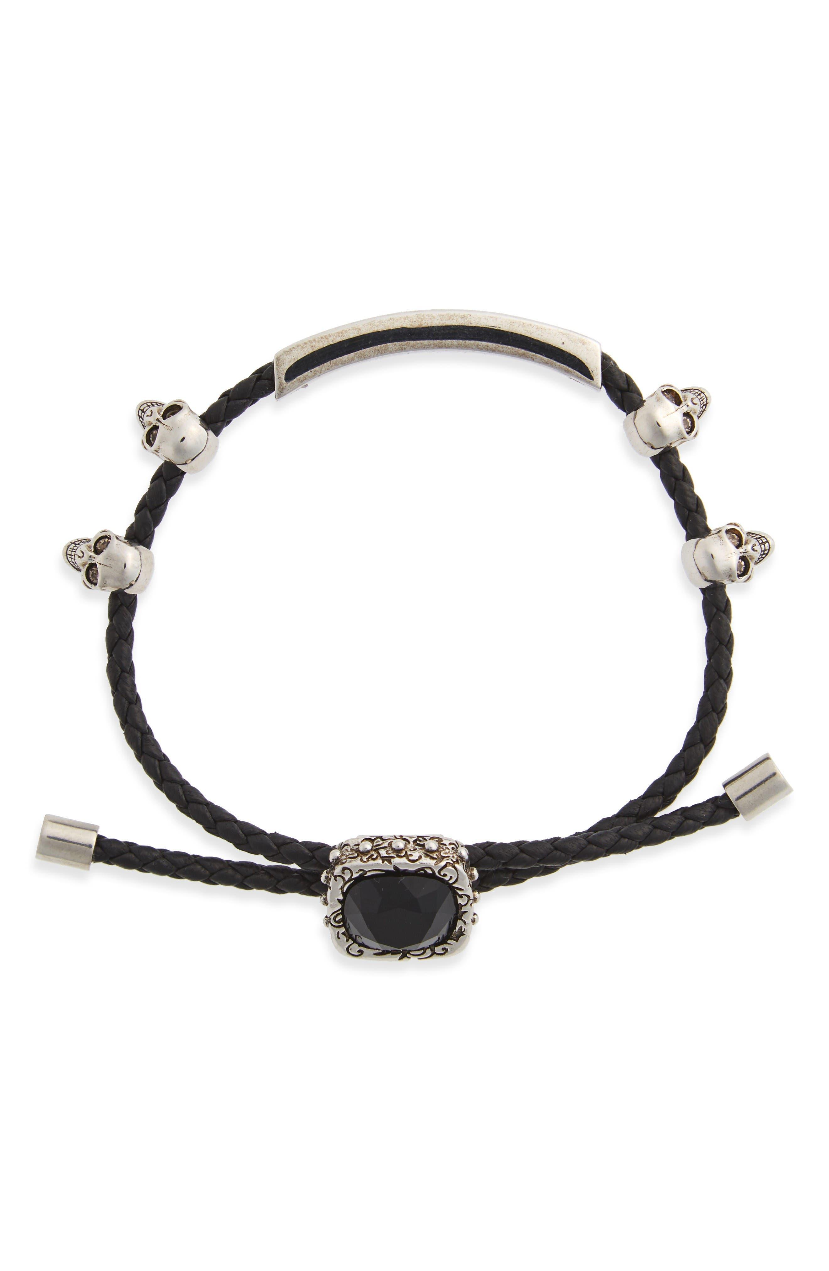 Alexander McQueen Jewel Friendship Bracelet