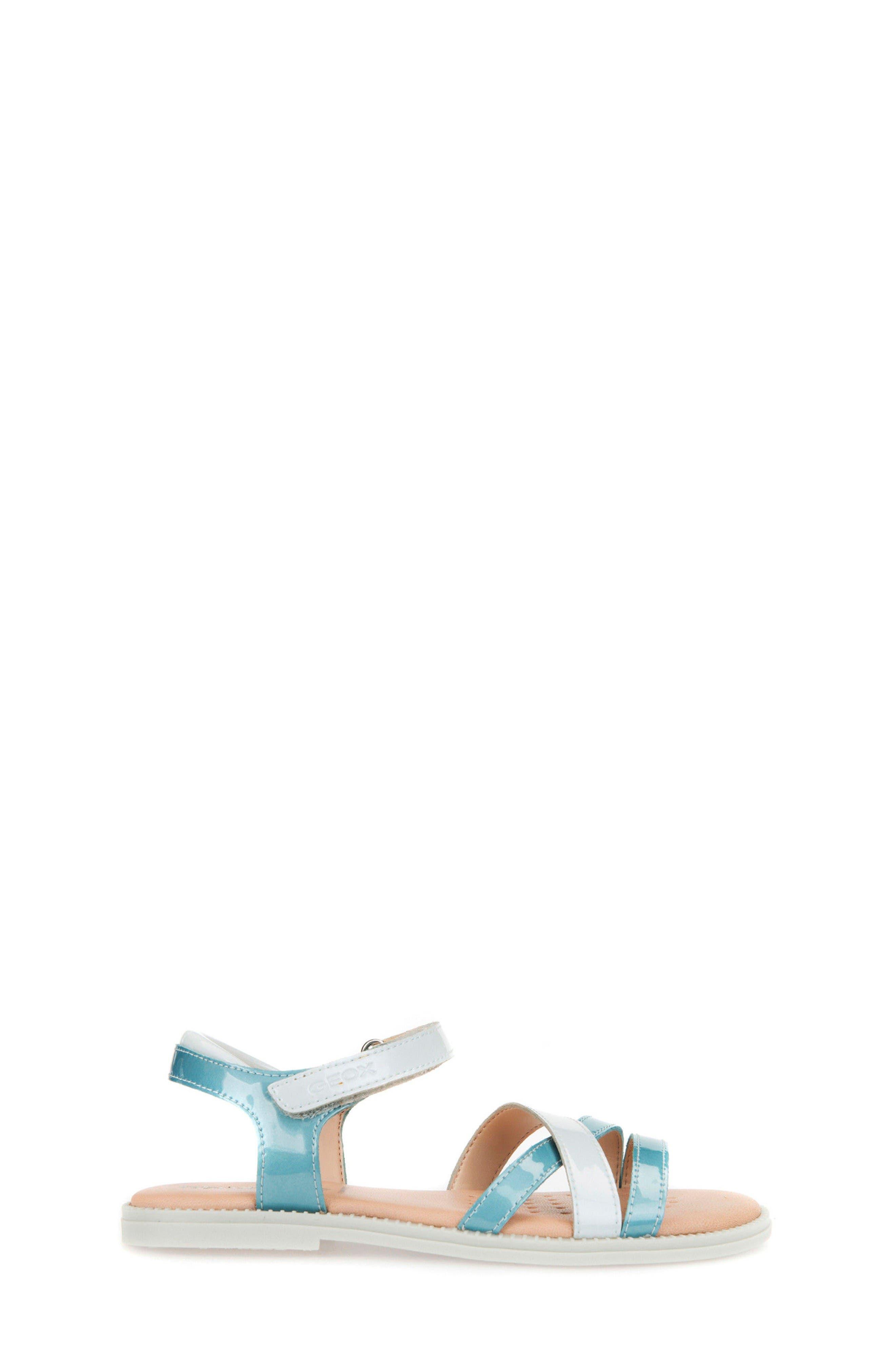 Alternate Image 3  - Geox Karly Girl Sandal (Toddler, Little Kid & Big Kid)