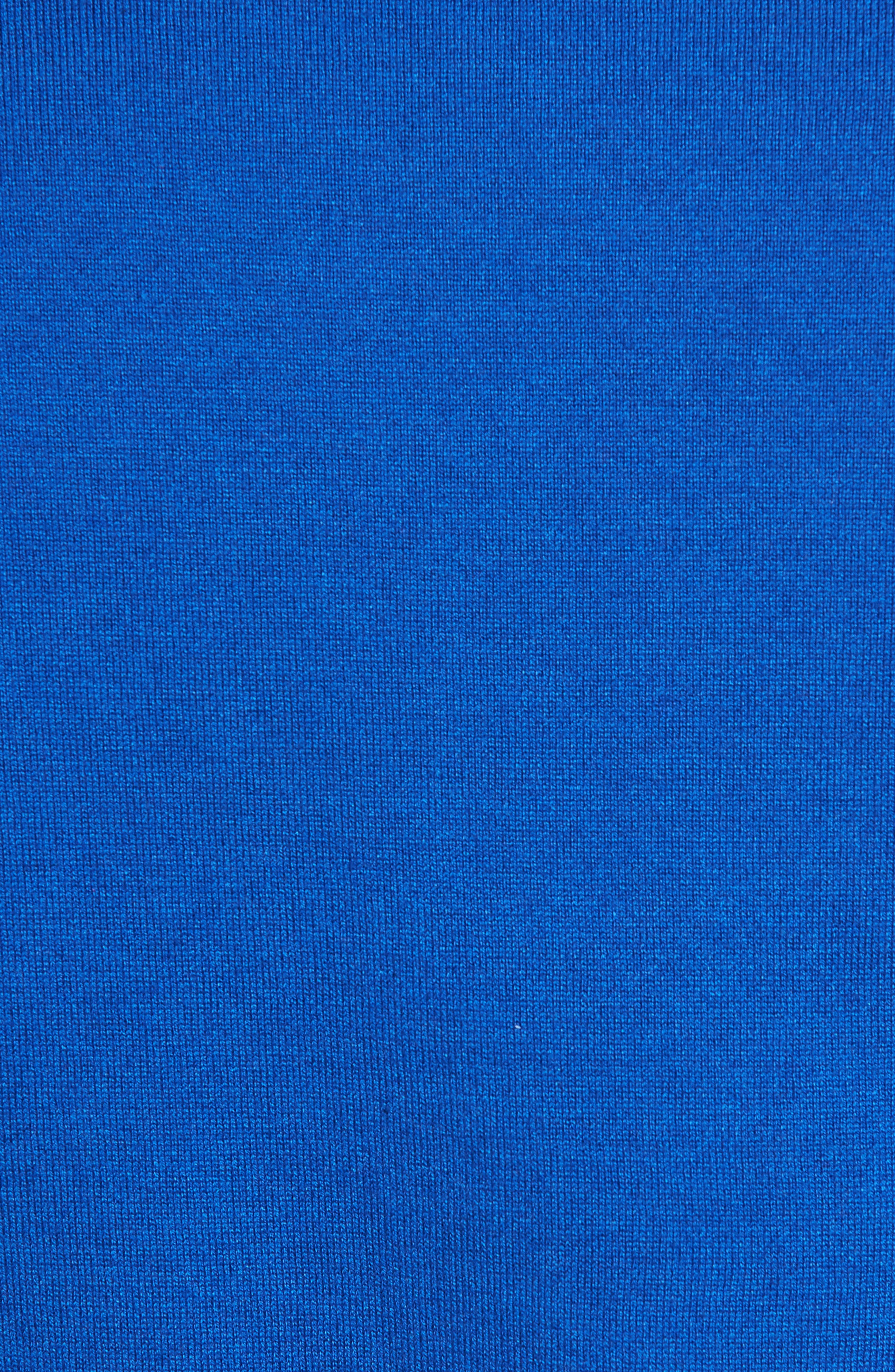 Armstro Tipped Golf Tee Sweater,                             Alternate thumbnail 6, color,                             Blue
