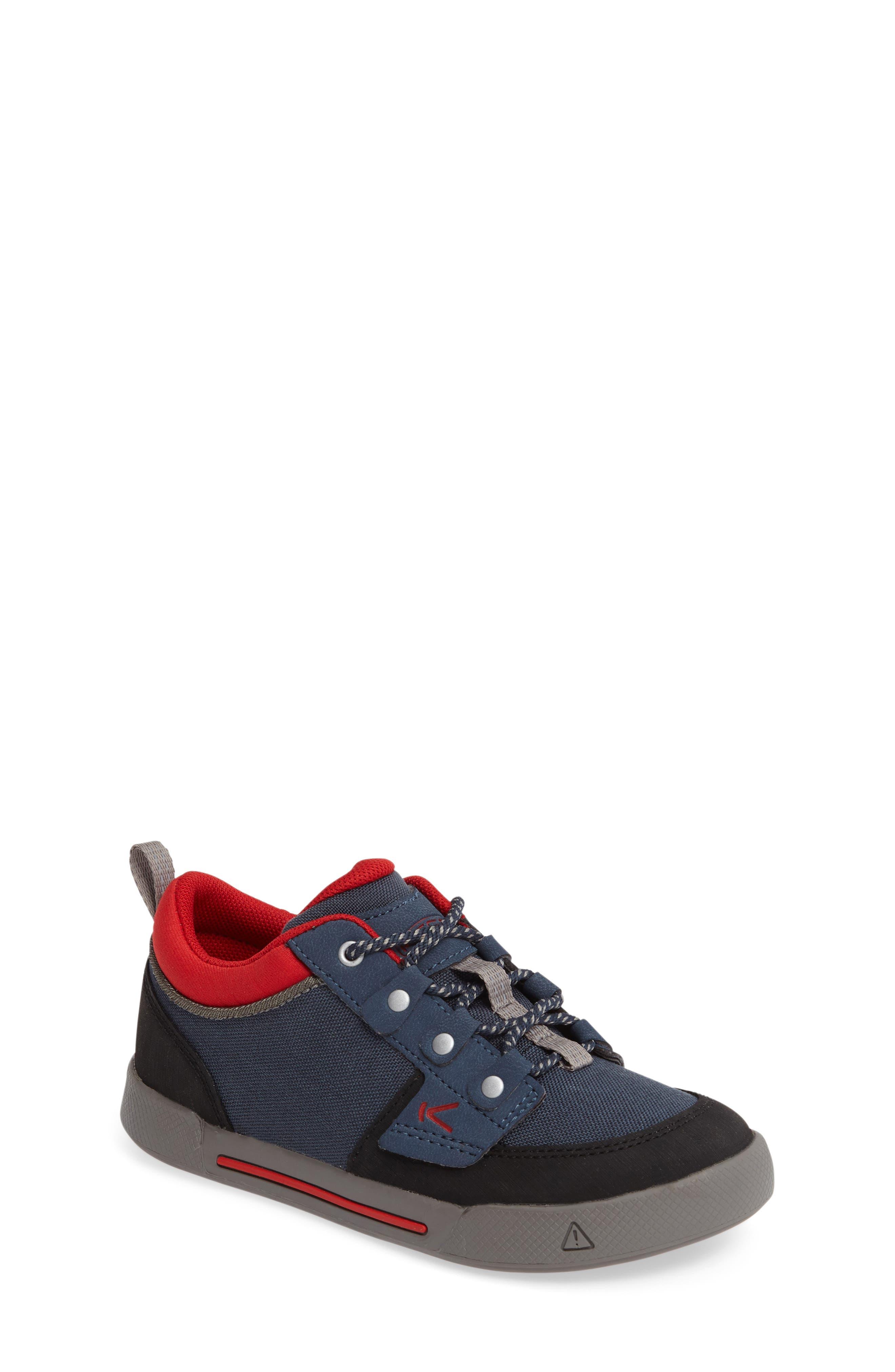 Encanto Wesley Sneaker,                         Main,                         color, Midnight Navy/ Formula One