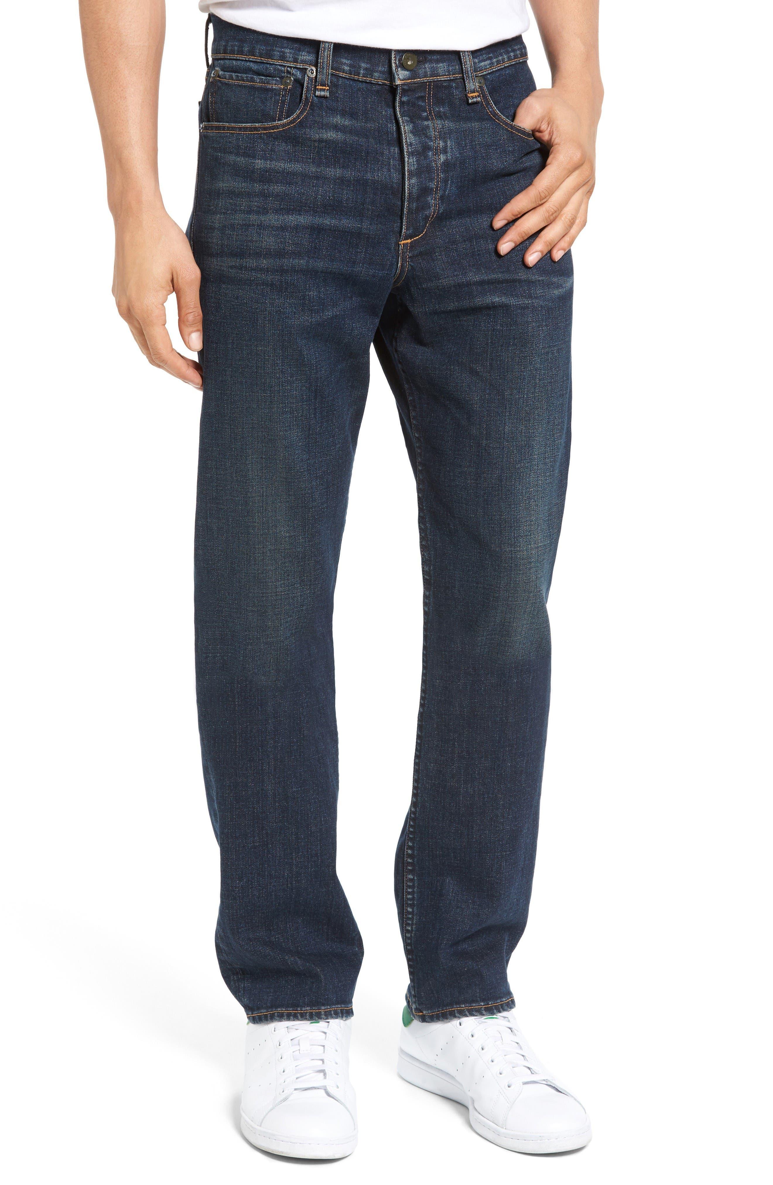 Main Image - rag & bone Fit 3 Slim Straight Leg Jeans (Plattsburg)