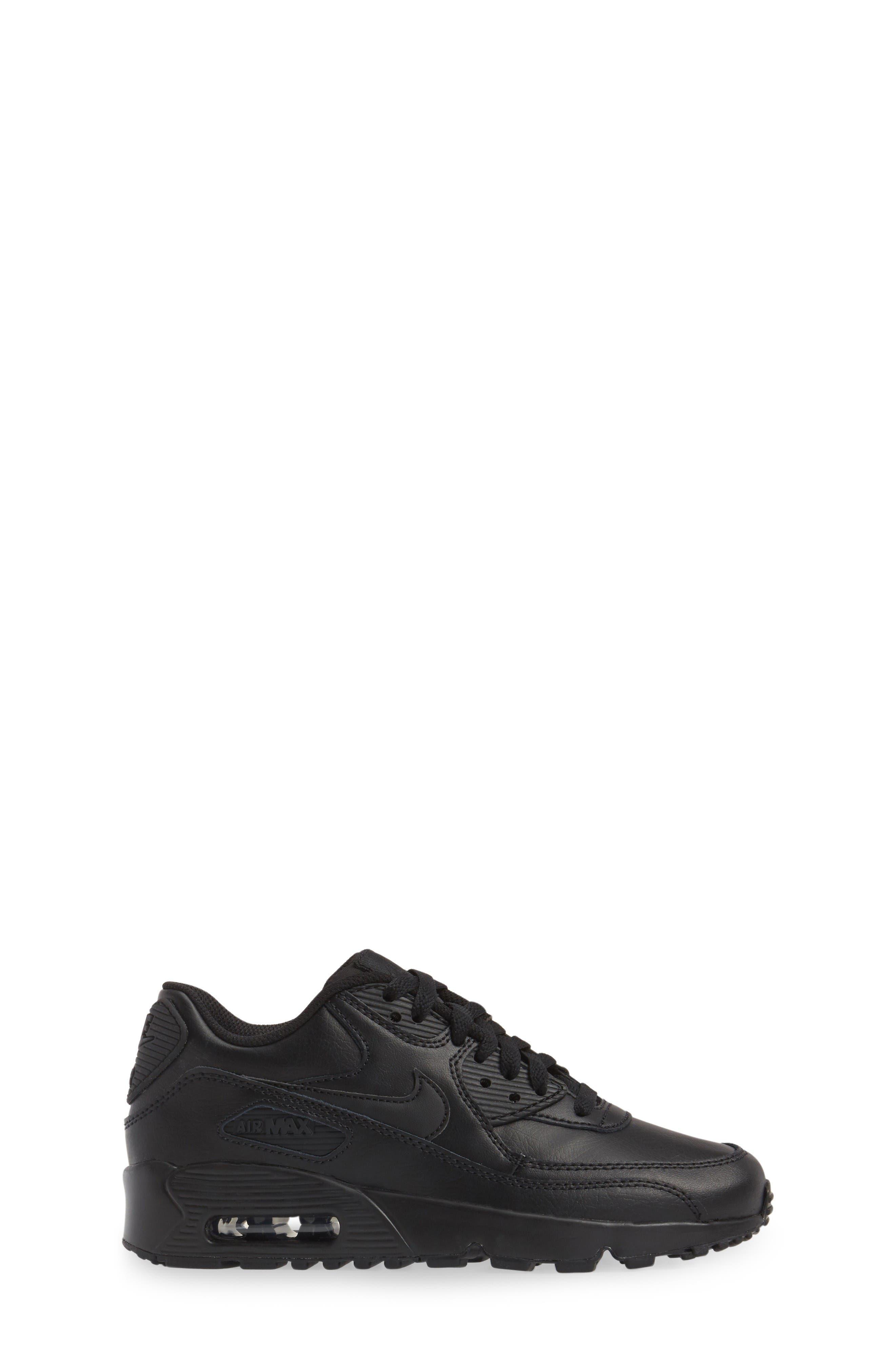 Alternate Image 3  - Nike Air Max 90 Sneaker (Big Kid)