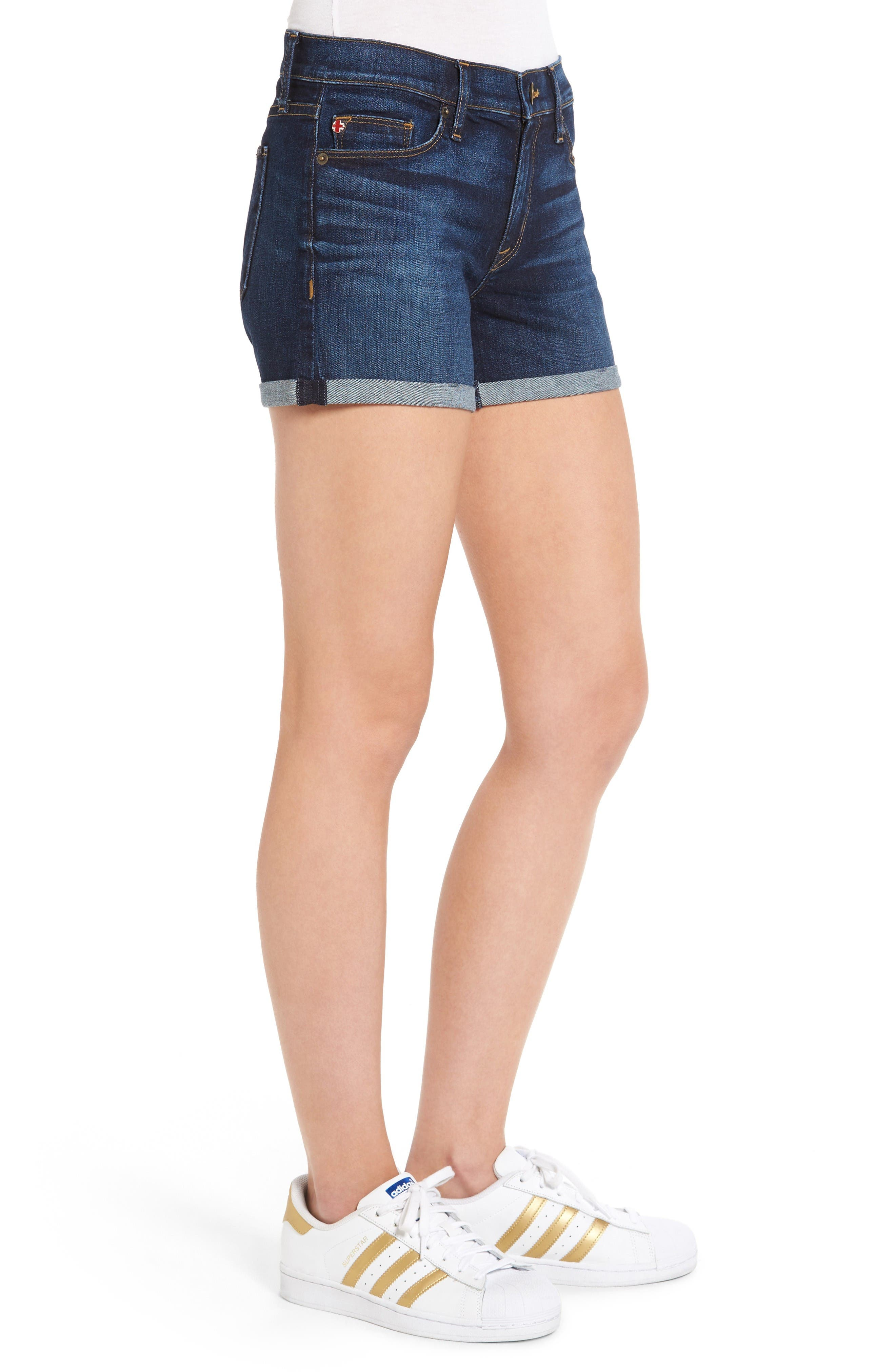 Alternate Image 3  - Hudson Jeans Asha Denim Shorts