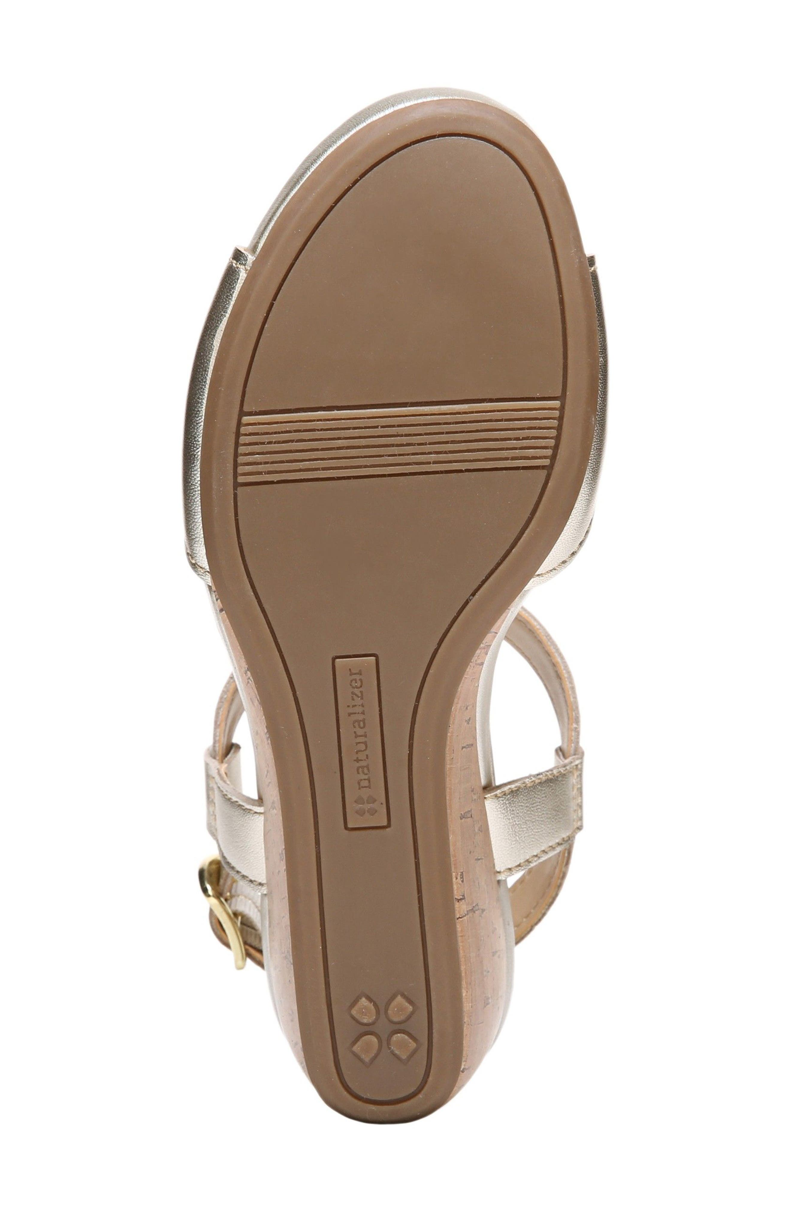 Alternate Image 4  - Naturalizer Camilla Wedge Sandal (Women)