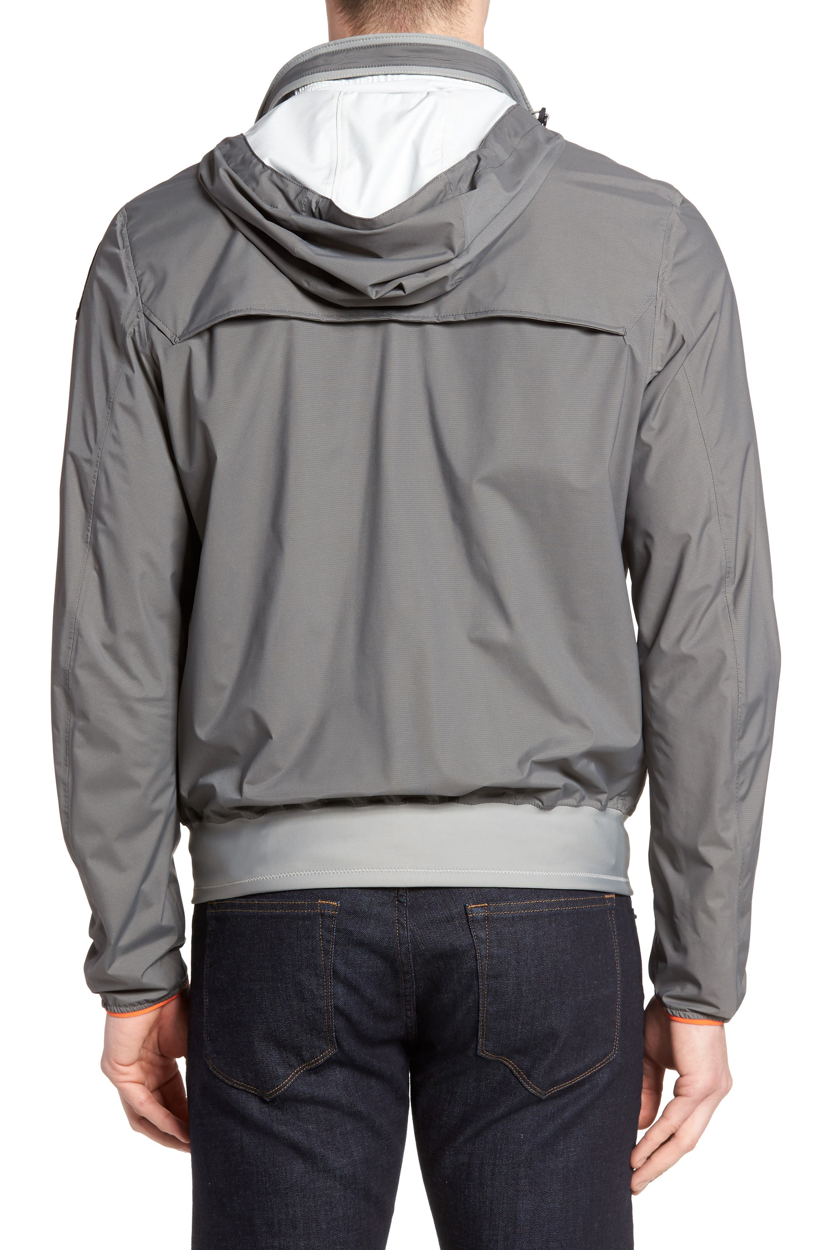 parajumpers torino stand collar rain jacket nordstrom
