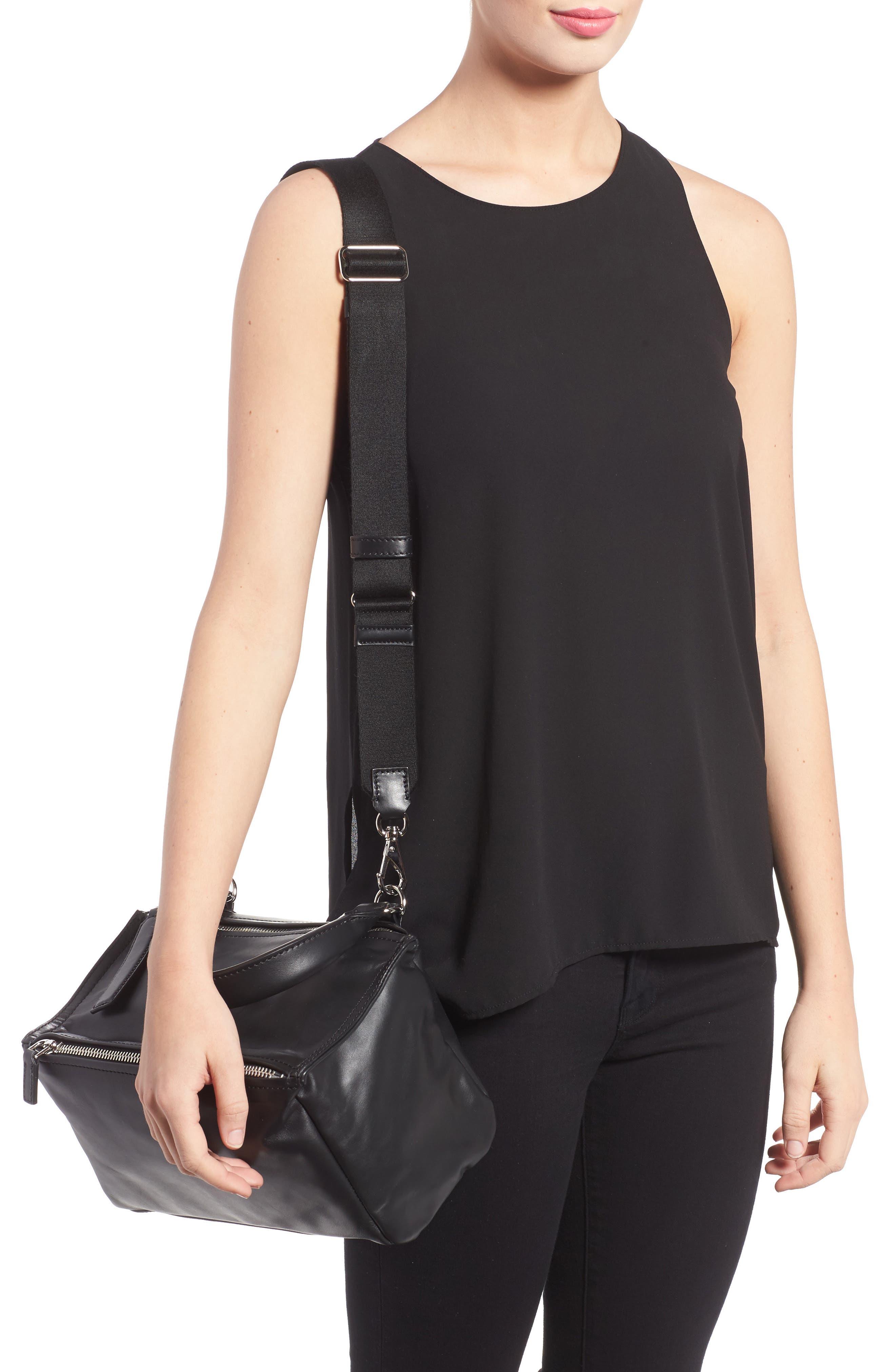 Alternate Image 2  - Givenchy Small Pandora - Logo Leather Satchel