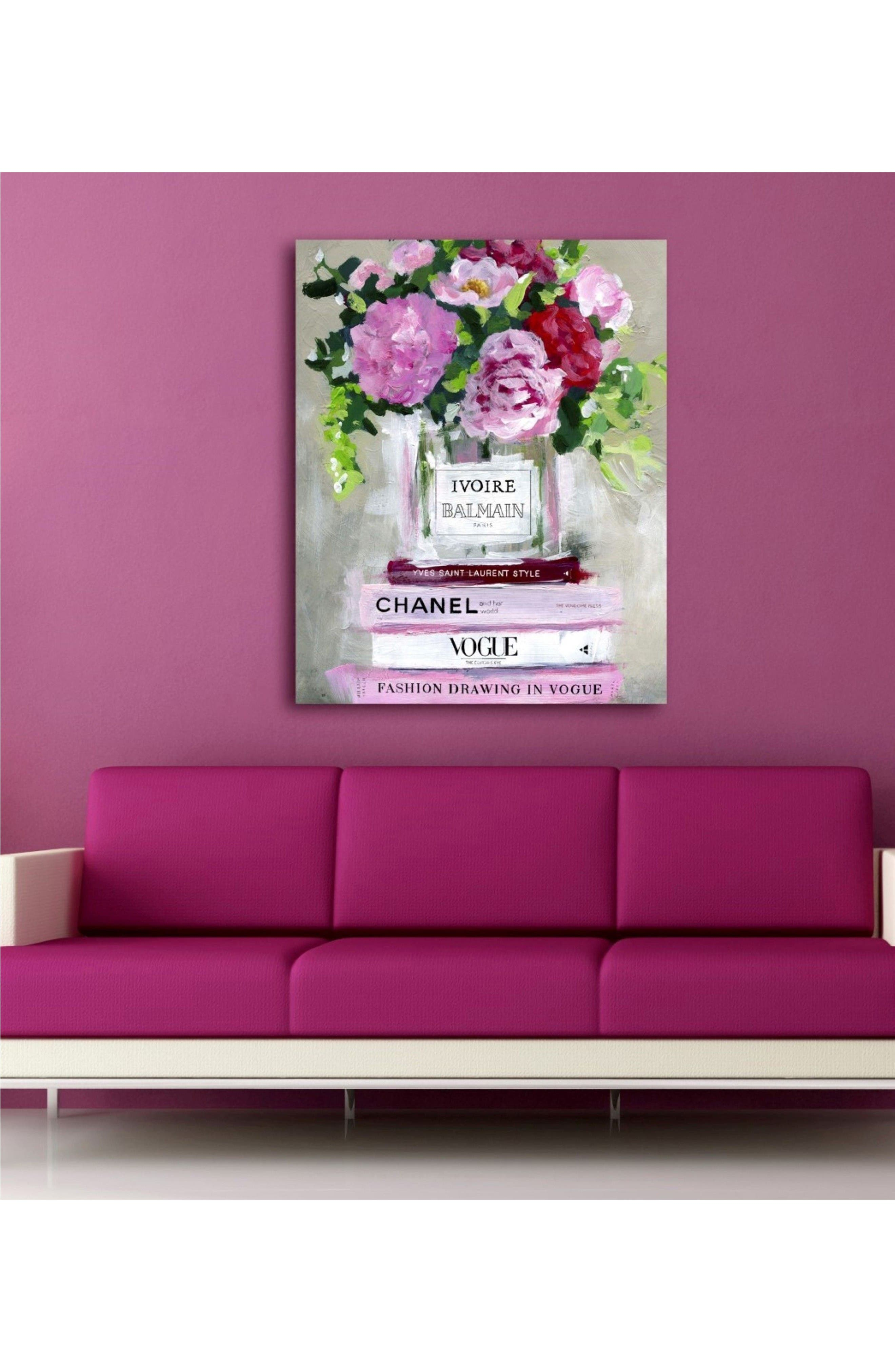 Alternate Image 2  - Oliver Gal Florale Canvas Wall Art