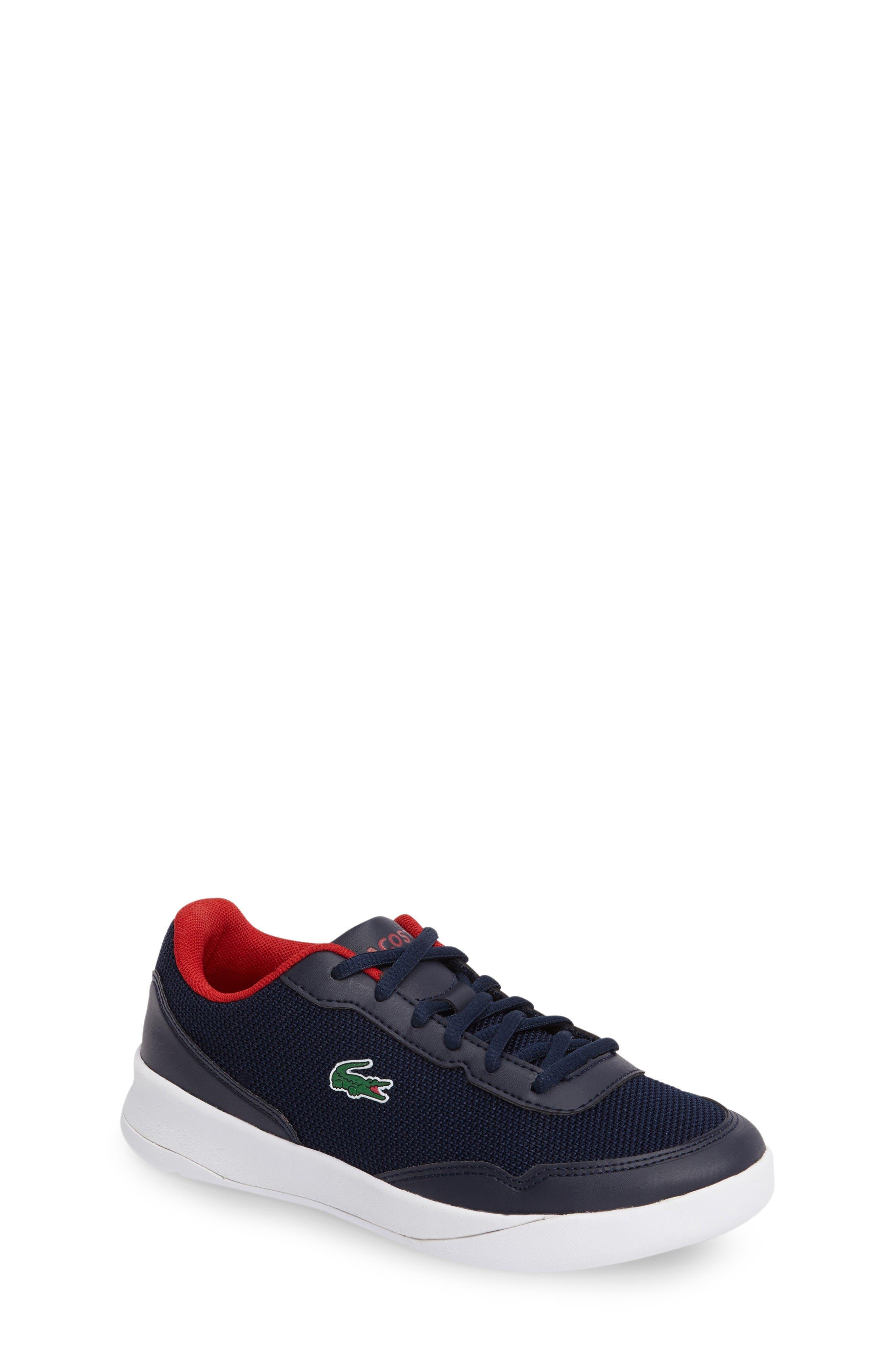 Lacoste LT Spirit Woven Sneaker (Little Kid & Big Kid)