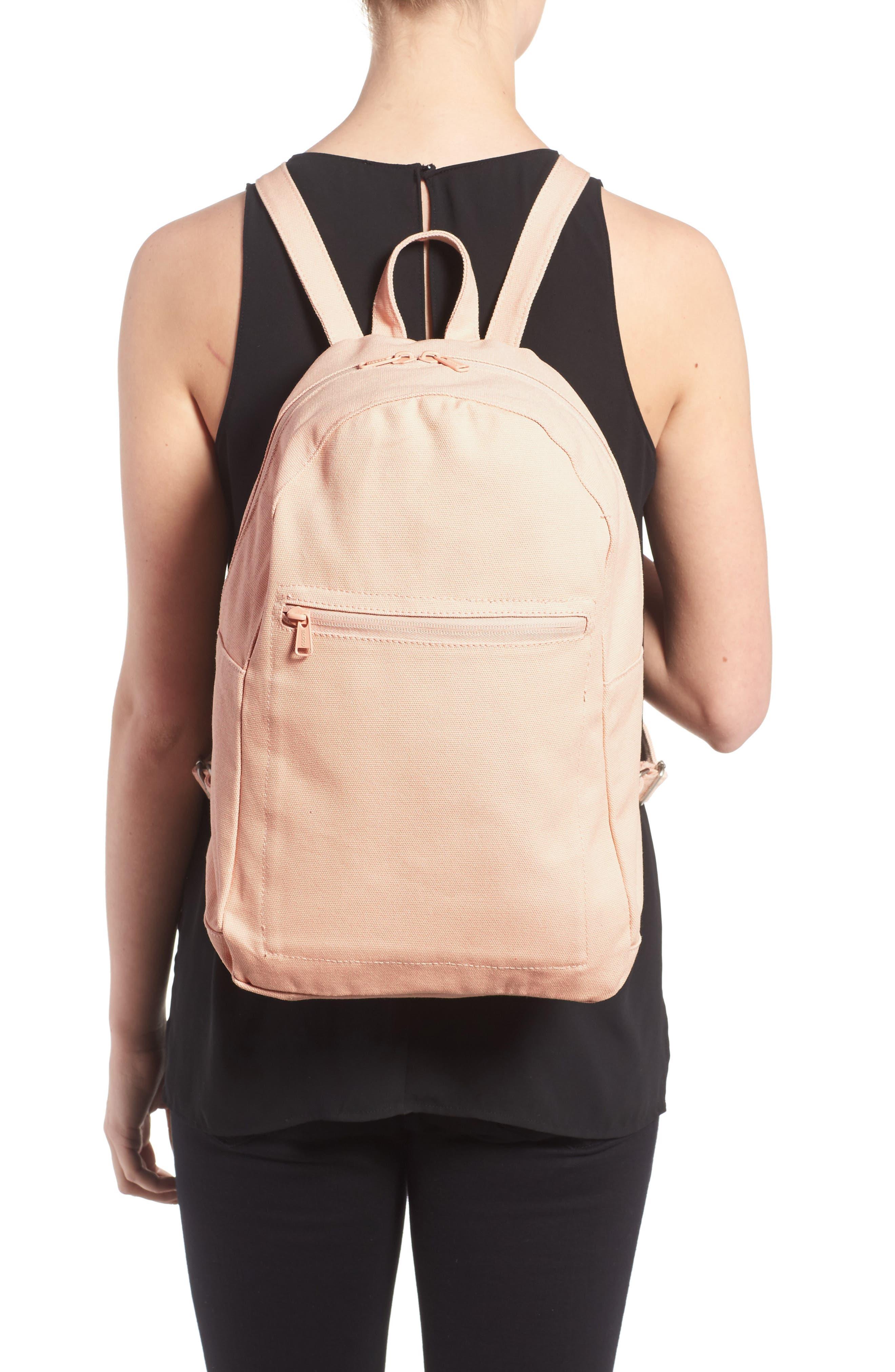 Canvas Backpack,                             Alternate thumbnail 2, color,                             Shell