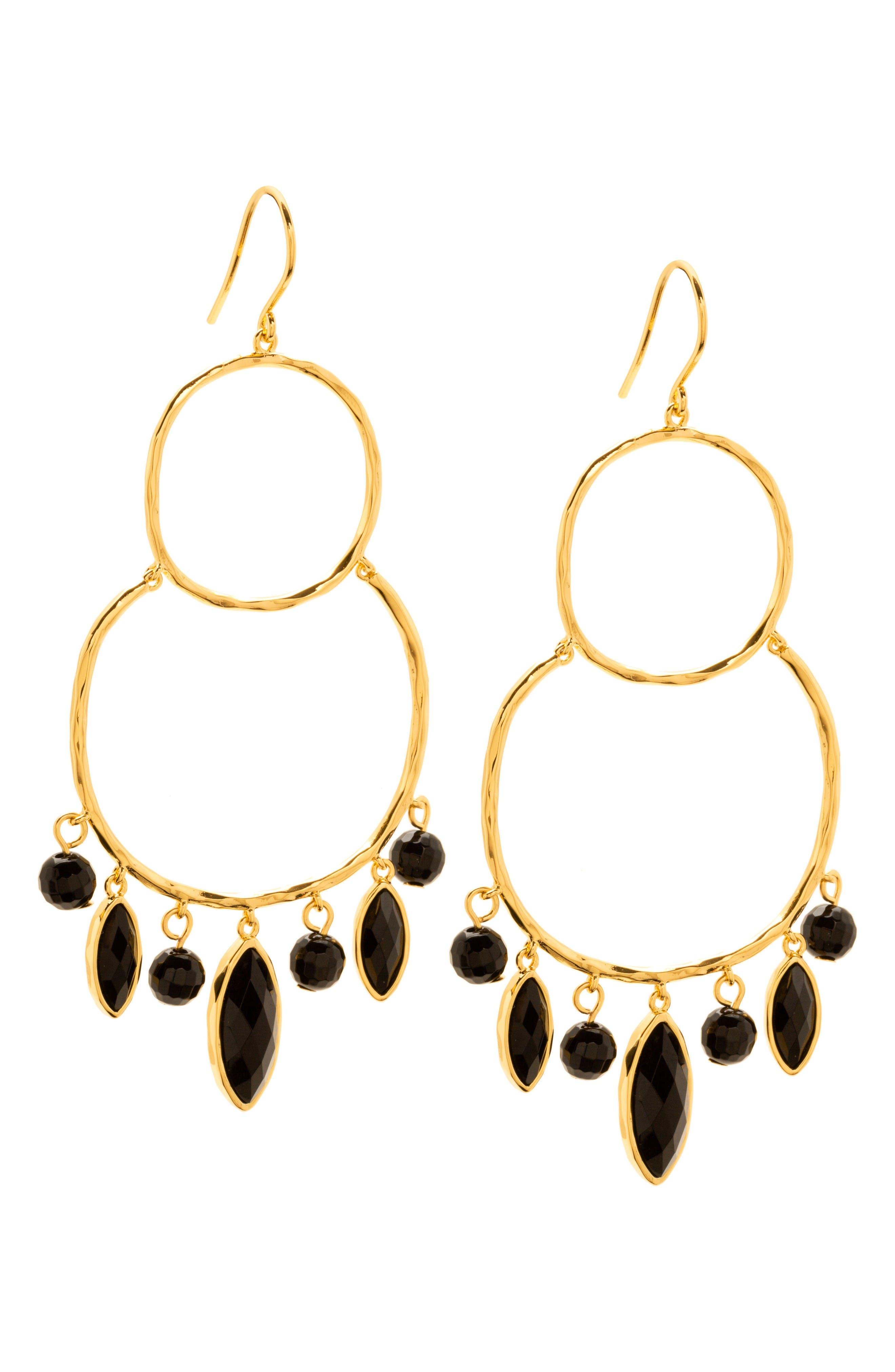 gorjana Eliza Chandelier Earrings